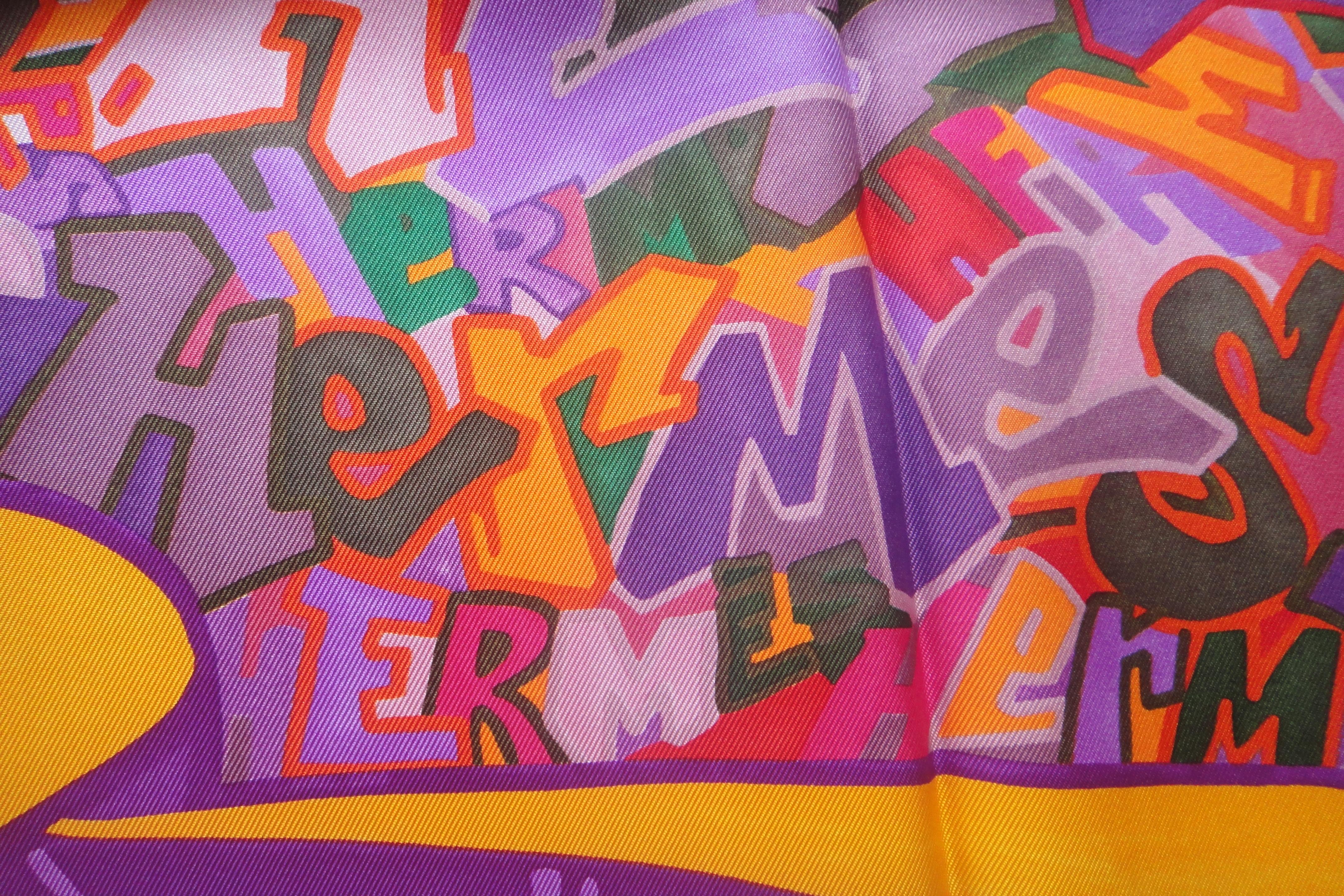 Detail: GRAFF silk twill scarf