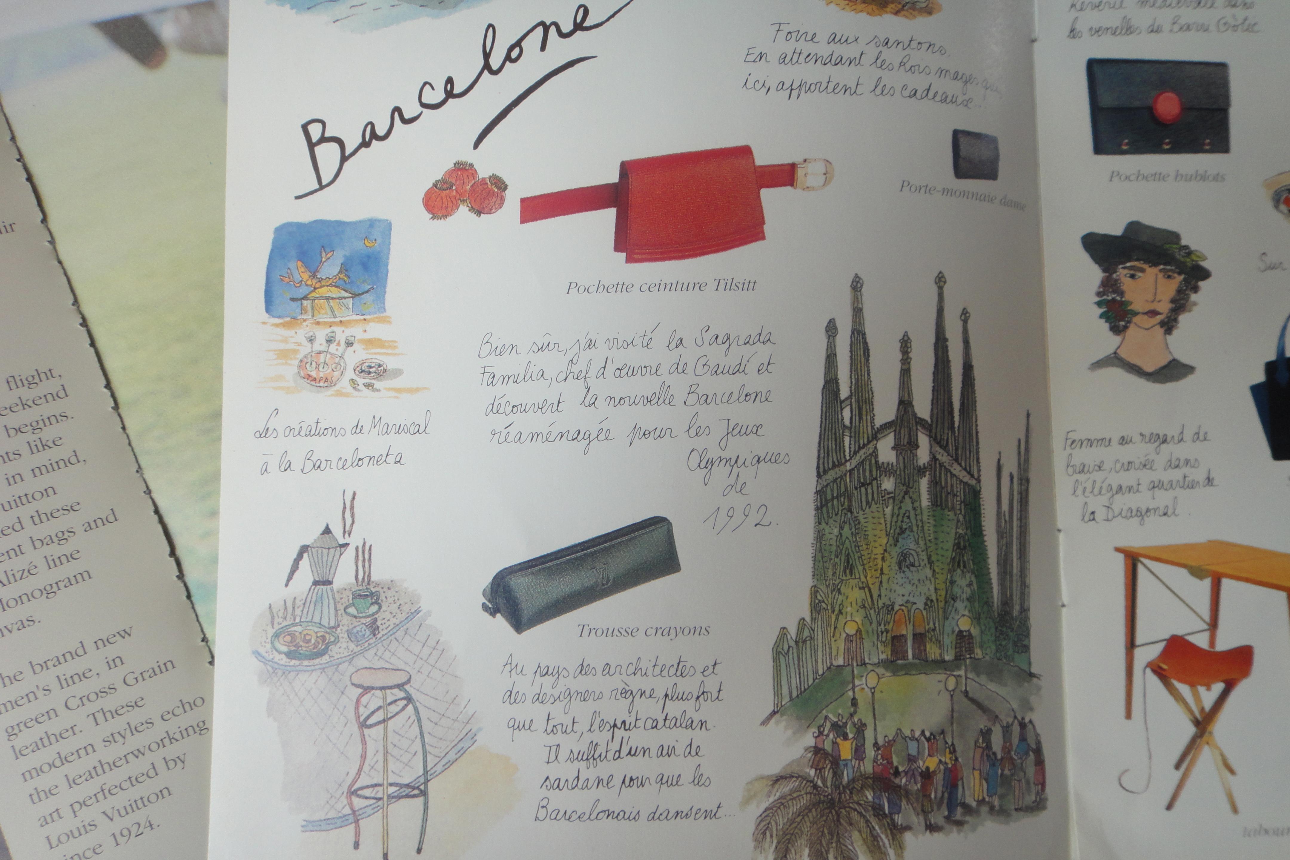 from:/aus: Noel en Louis Vuitton (c) Louis Vuitton 1991