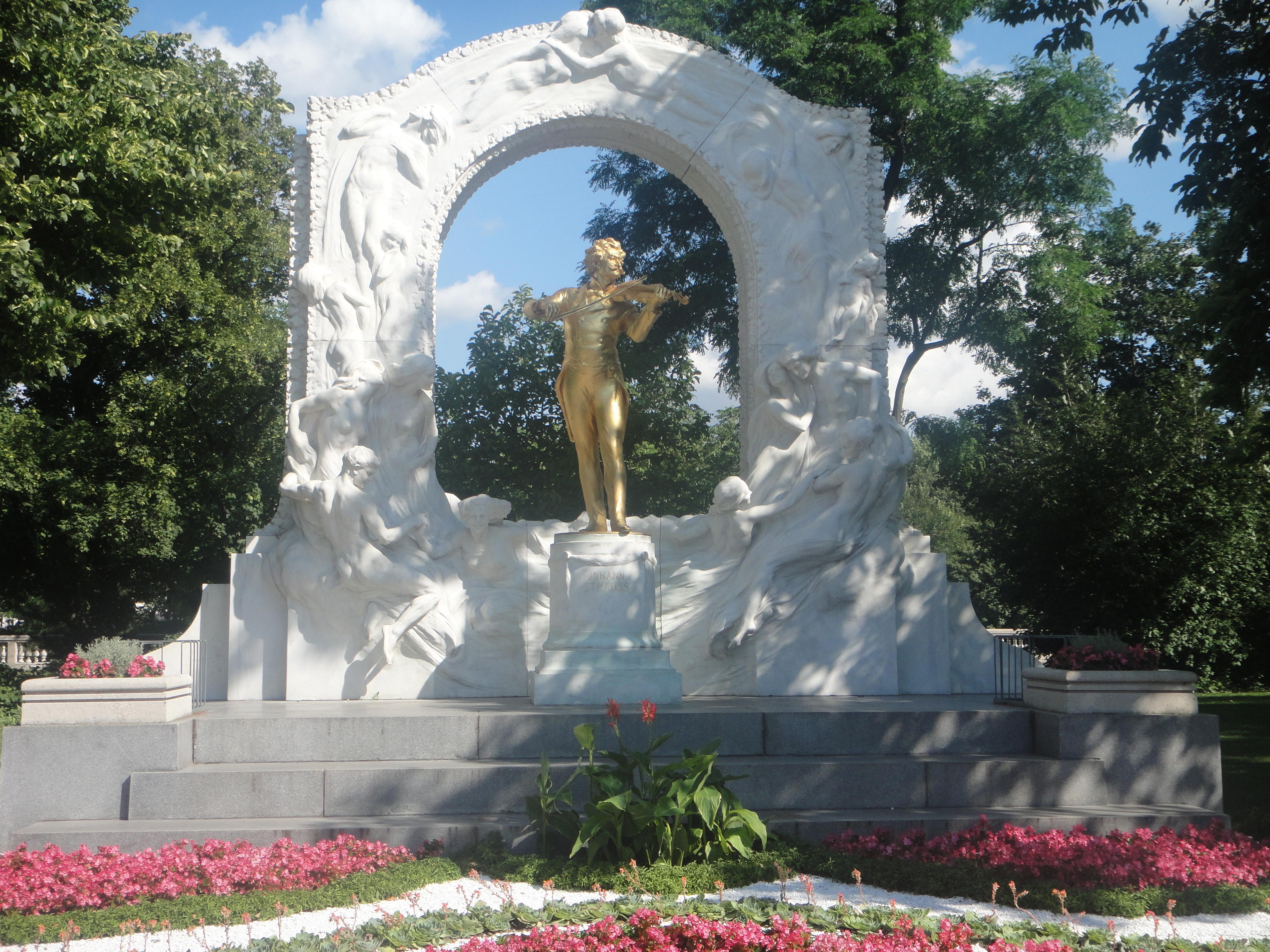 Johann Strauss Denkmal, Stadtpark, Wien