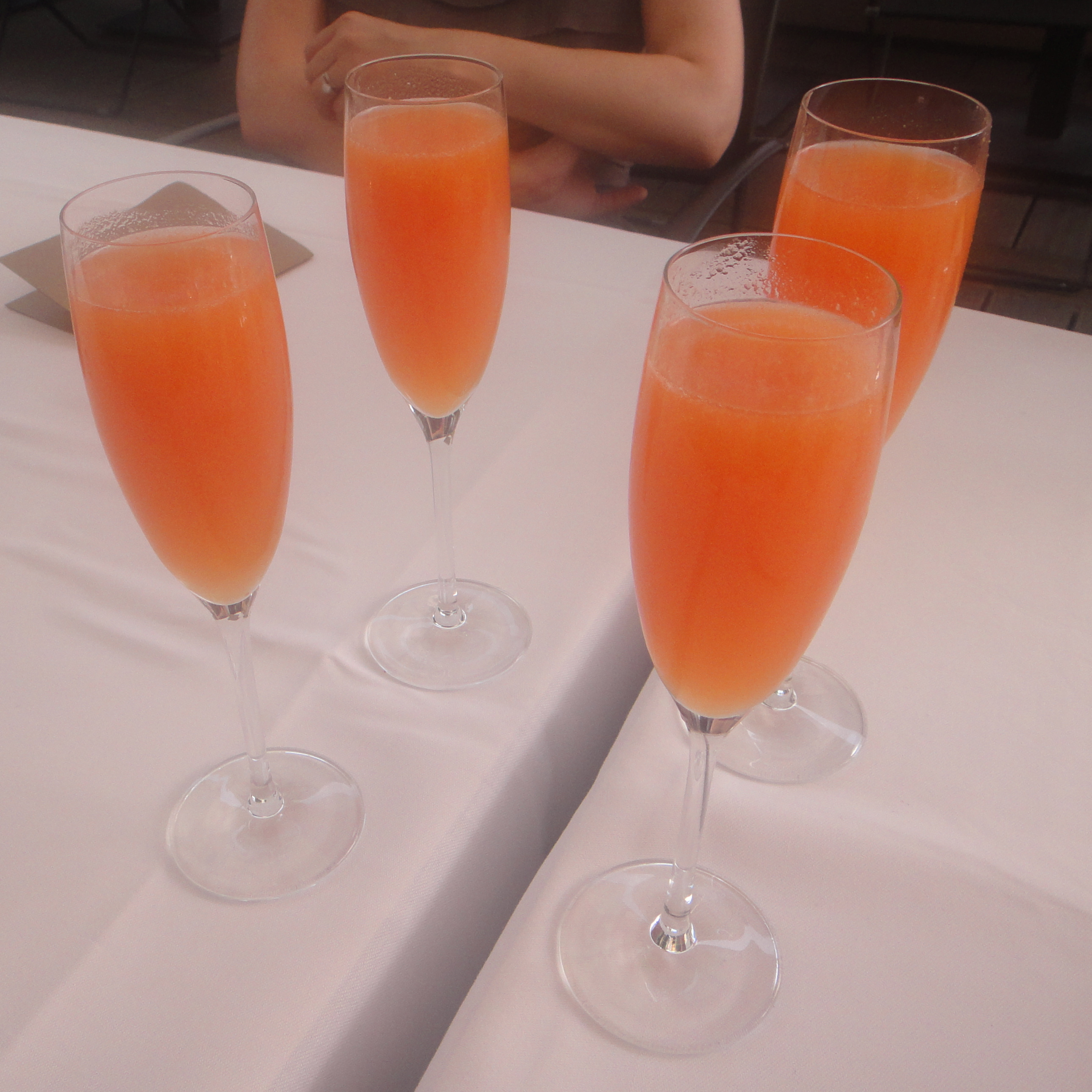 Bellinis for the ladies