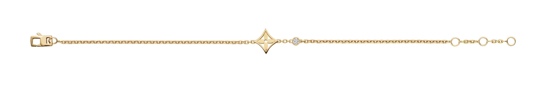 LV Monogram Idylle bracelet yellow gold / Armband gelbgold