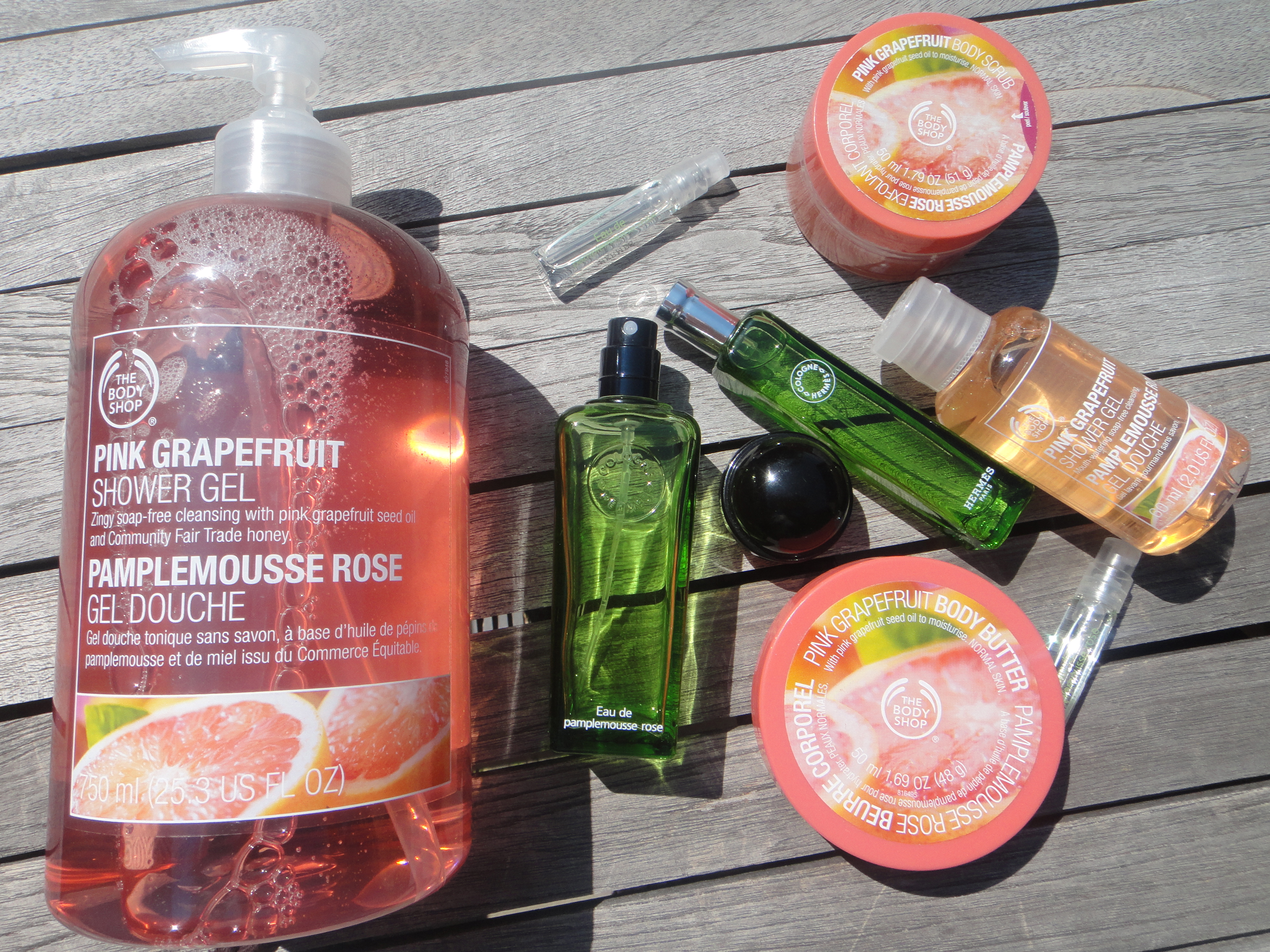 Pamplemousse rose Pink Grapefruit - Hermès & The Body Shop