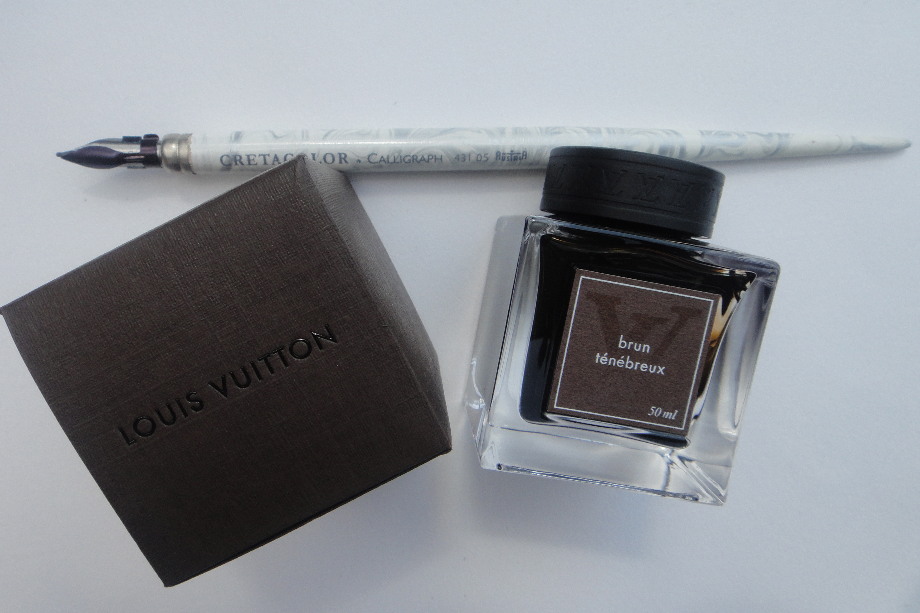 Louis Vuitton ink Tinte - Cretacolor pen Feder