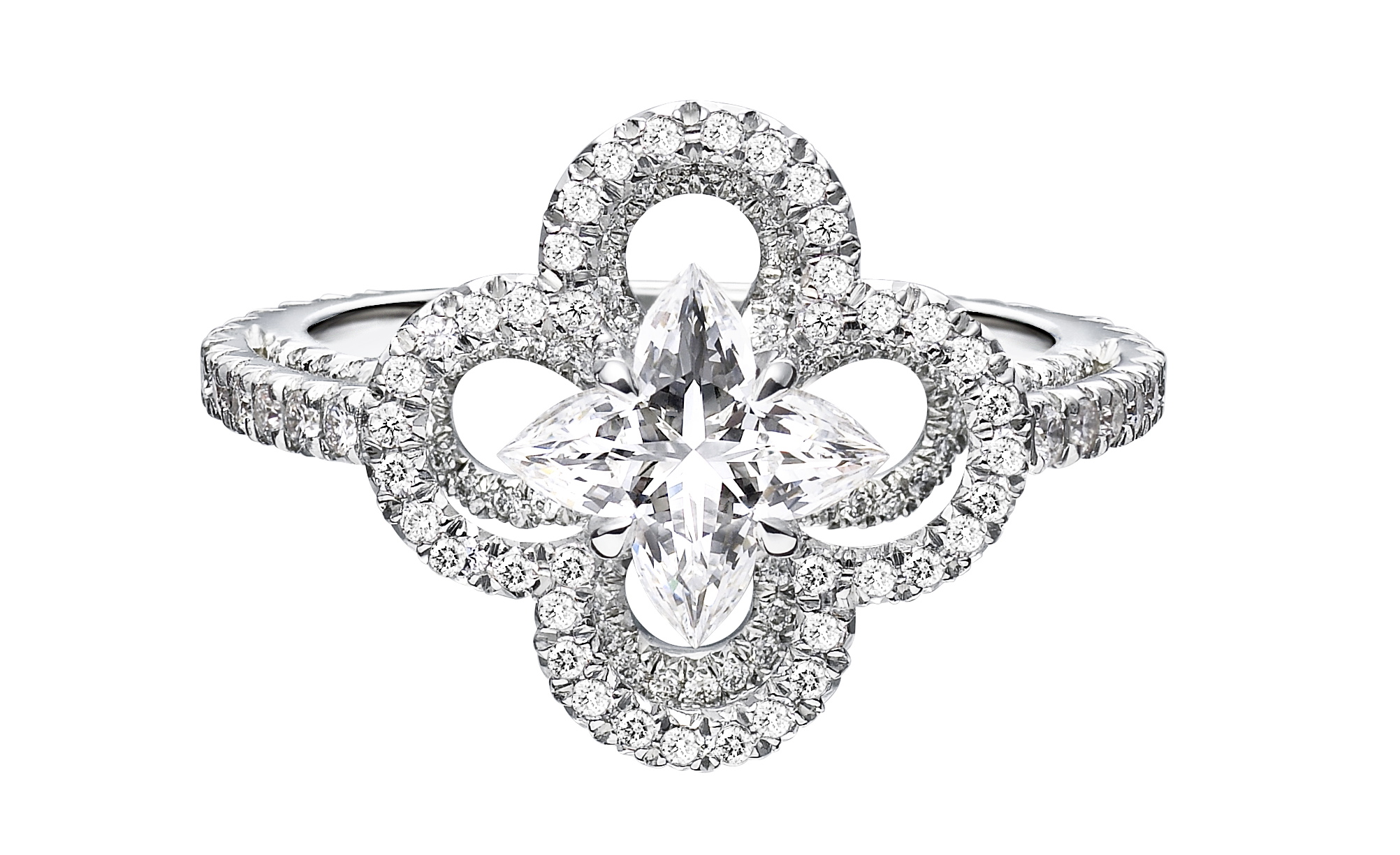 Louis Vuitton diamond cut