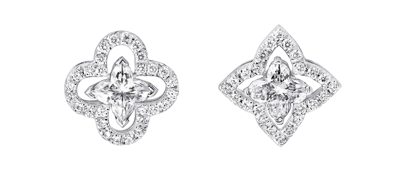Les Ardentes - flower cut, diamond cut