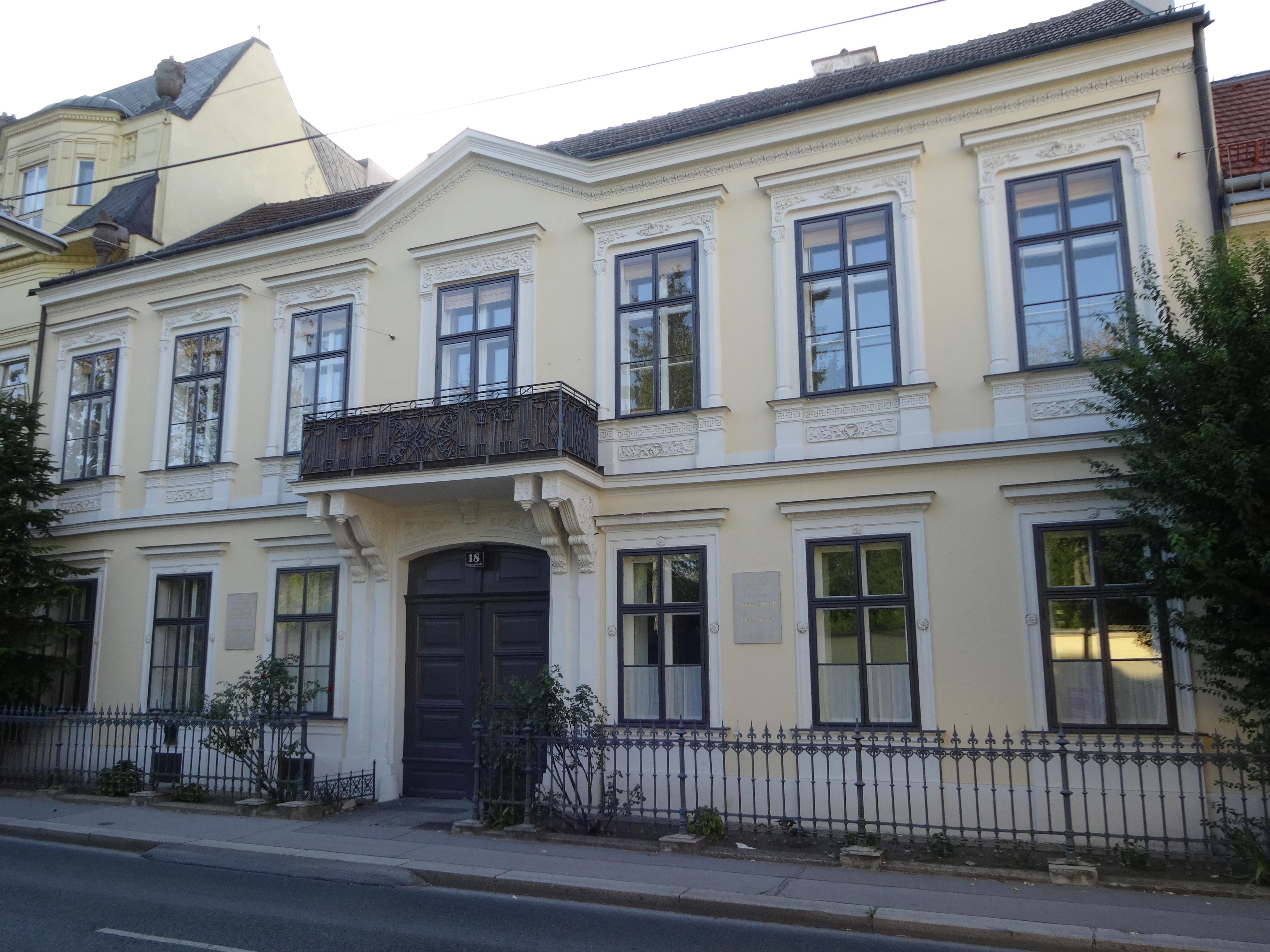 Johann Strauss Fledermaus Haus
