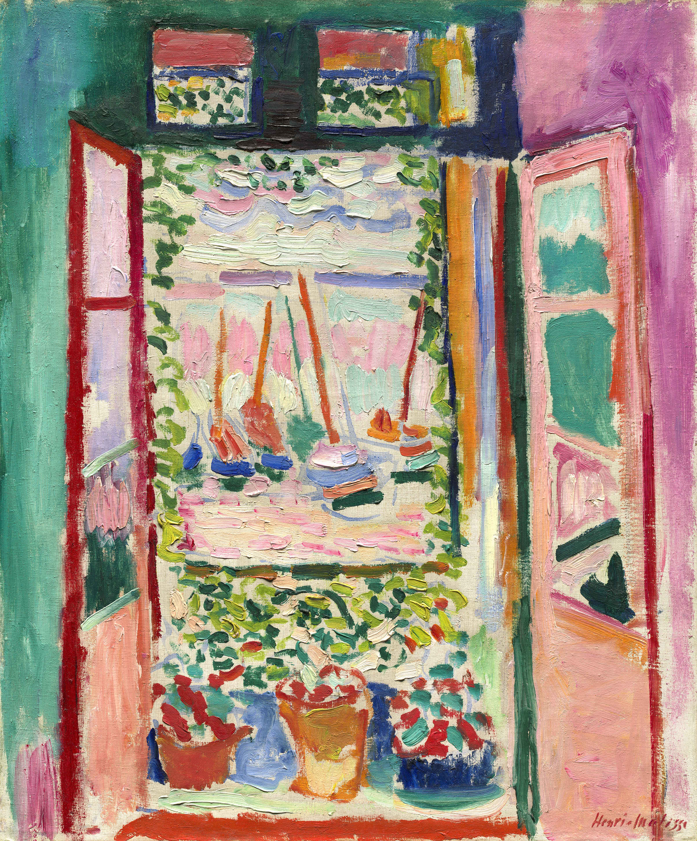 Henri Matisse - Das offene Fenster / The open window