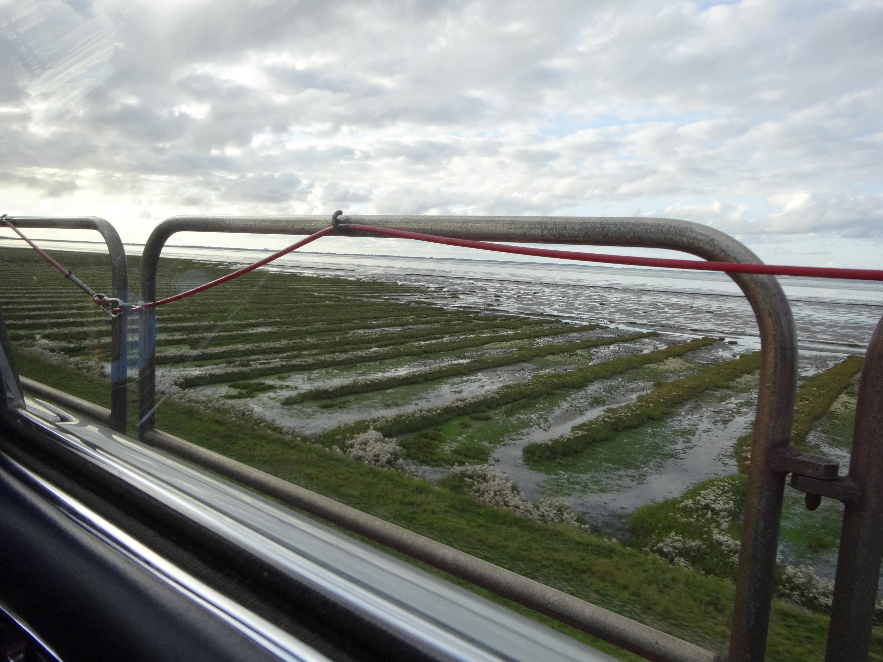 Überquerung des Hindenburg Damms