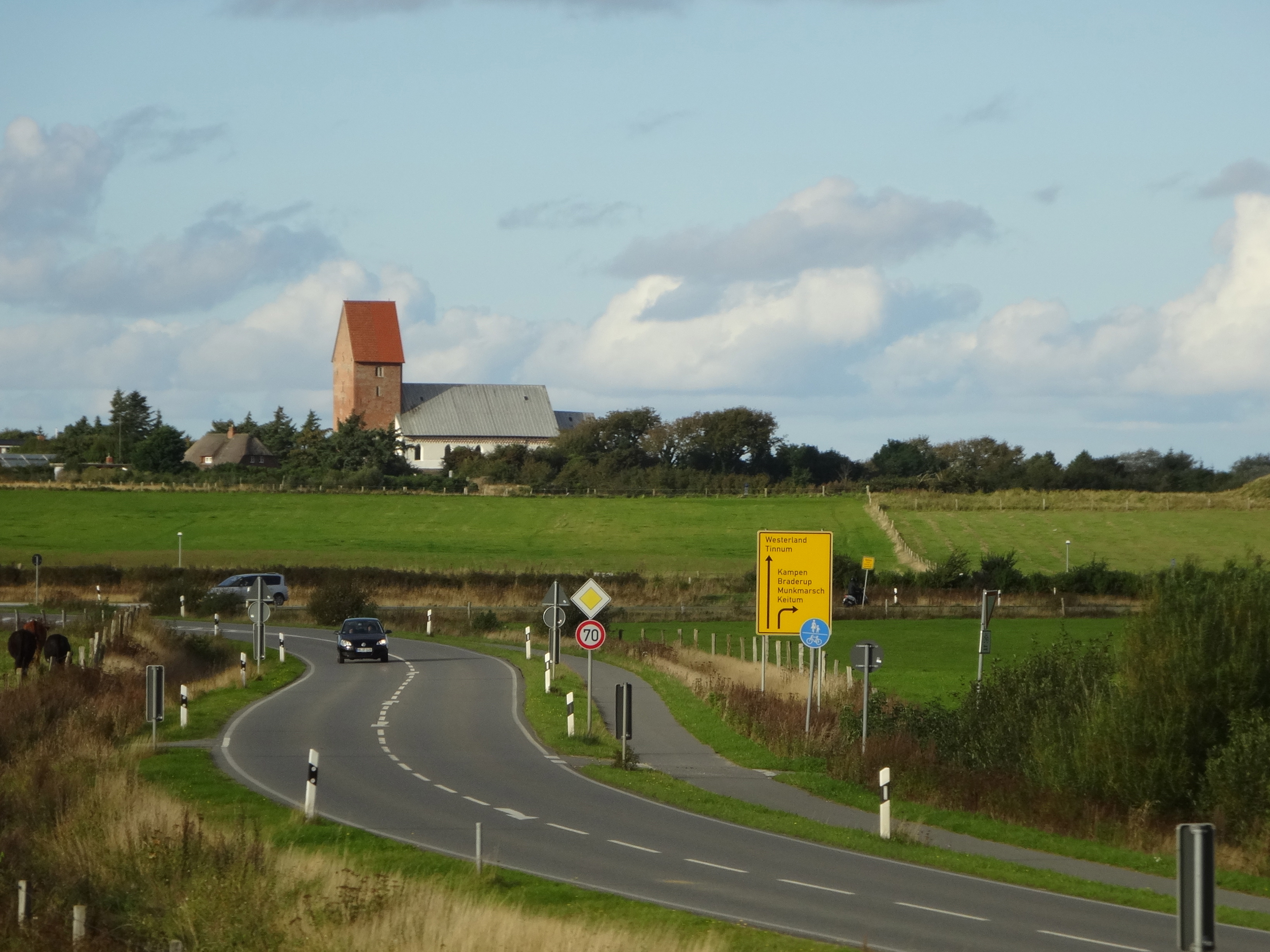 Keitum's famous church, Sylt