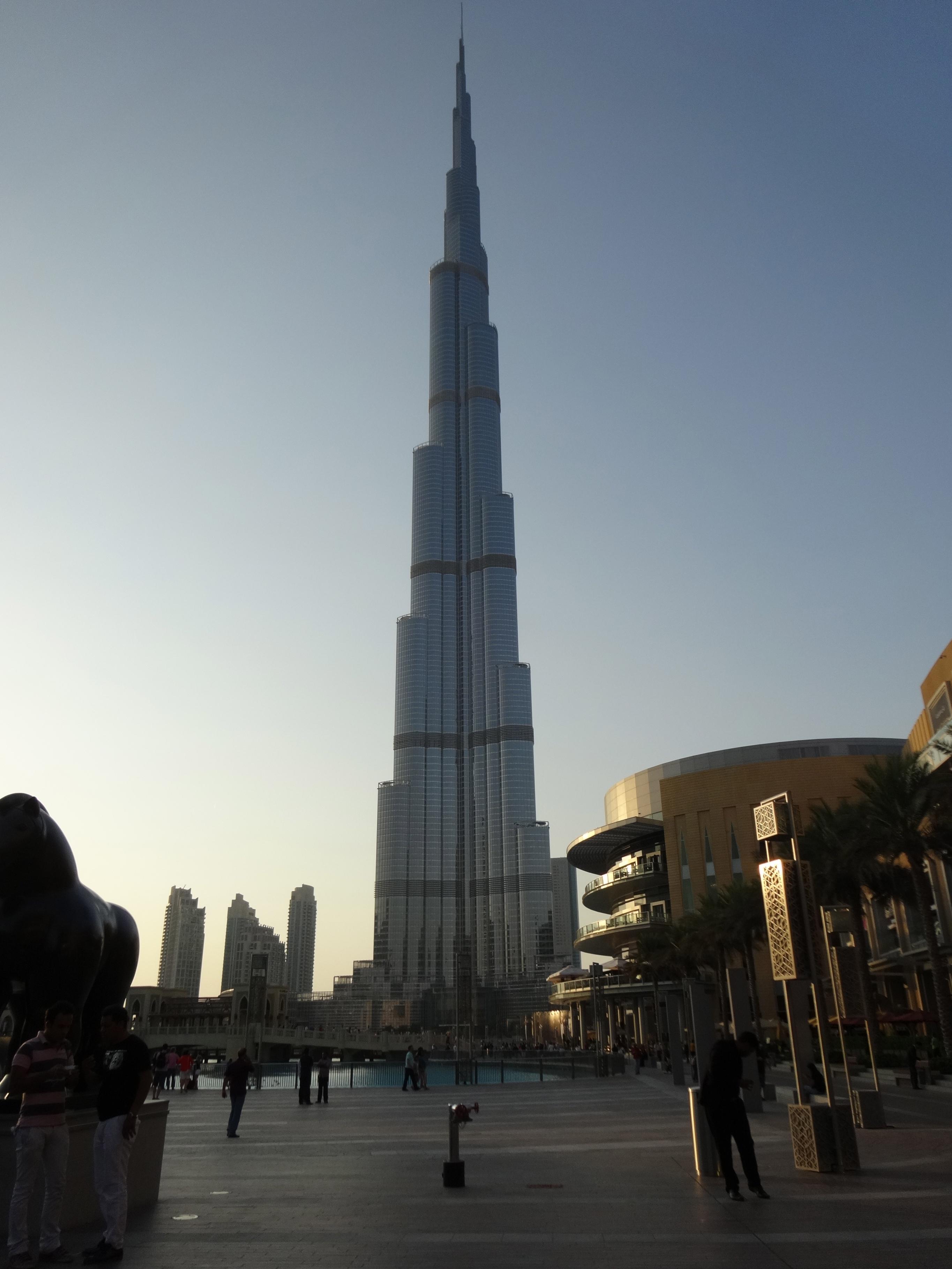 Burj Khalifa - late afternoon / am späten Nachmittag