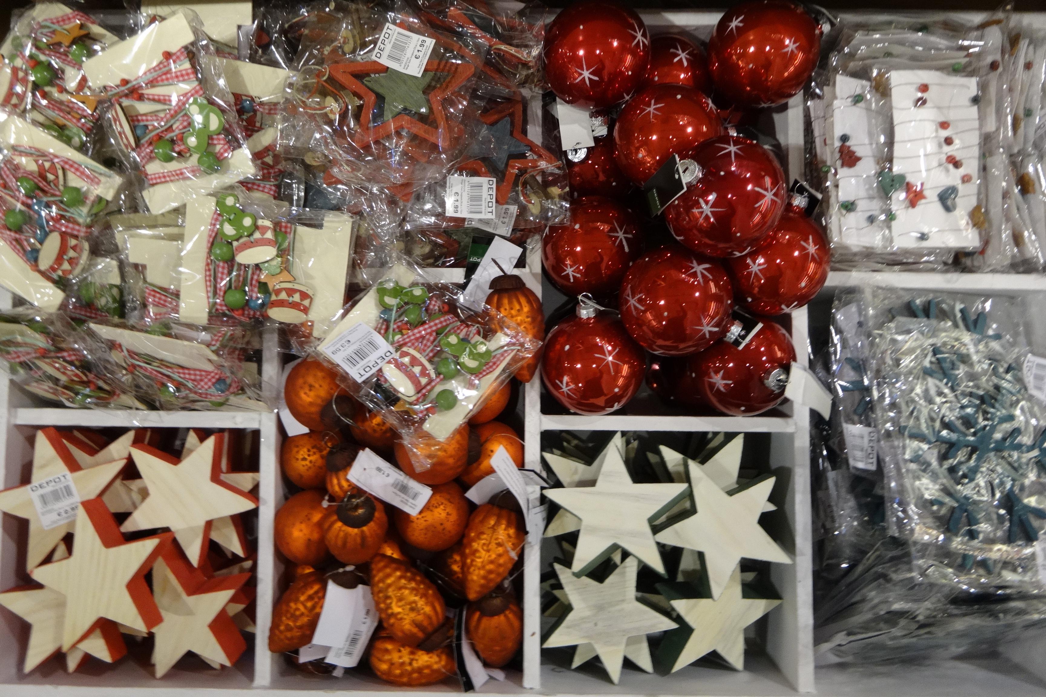 christmas ornaments from DEPOT / Weihnachtsdeko von DEPOT