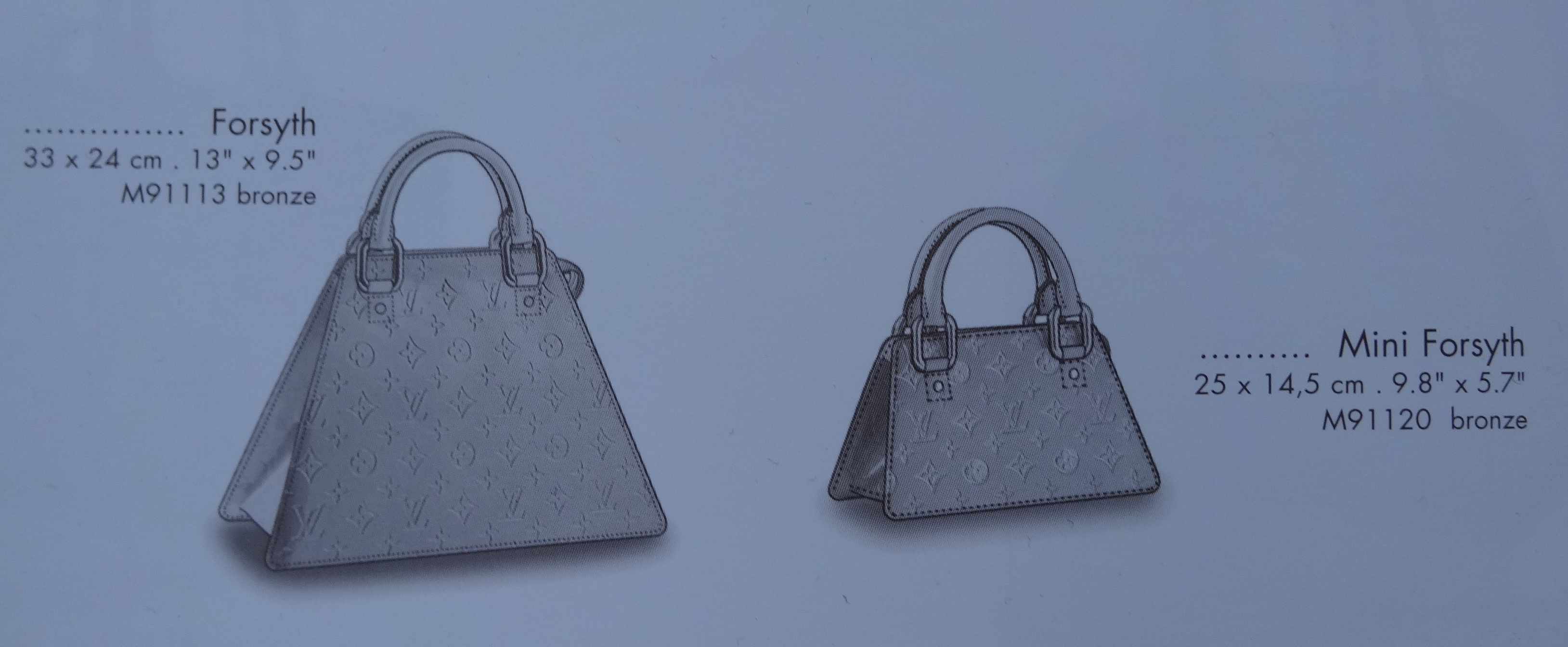 Forsyth and Mini Forsyth, (c) Louis Vuitton Le Catalogue 2001