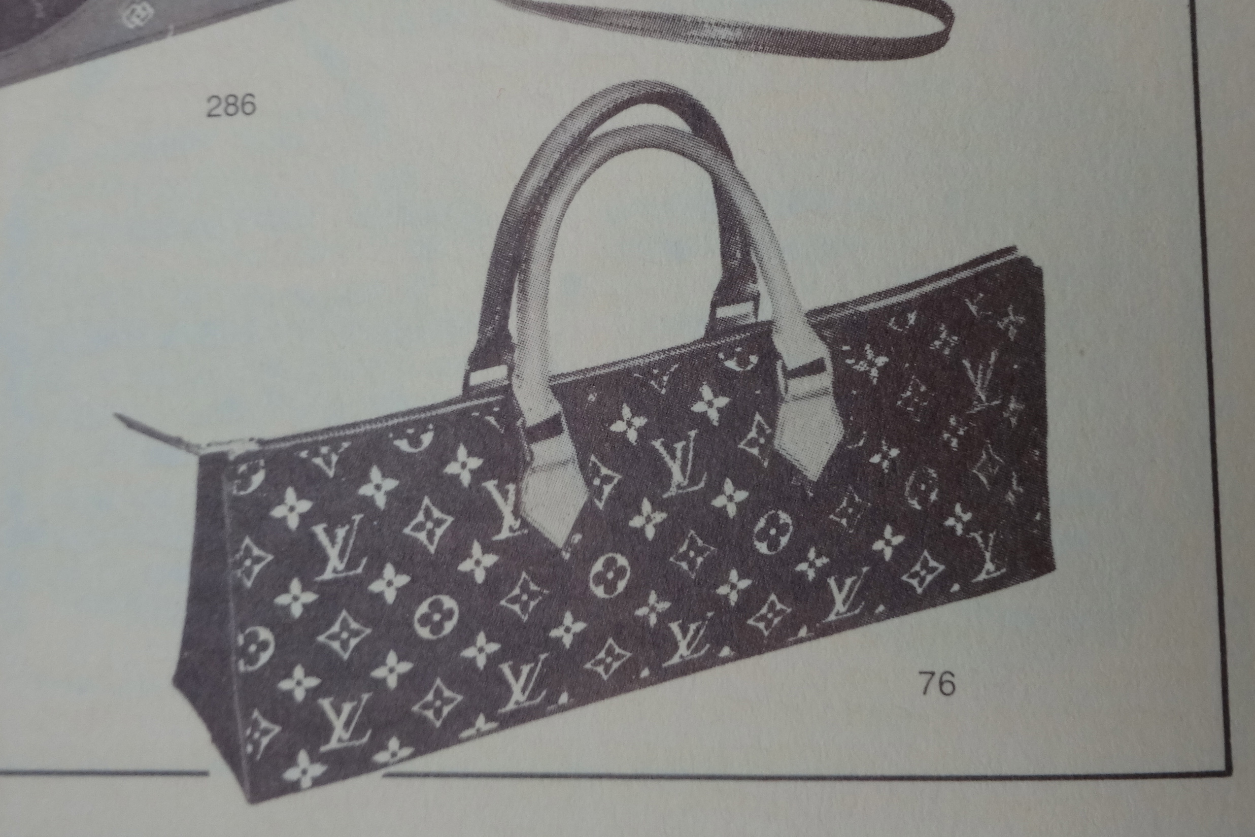 Louis Vuitton Sac Long