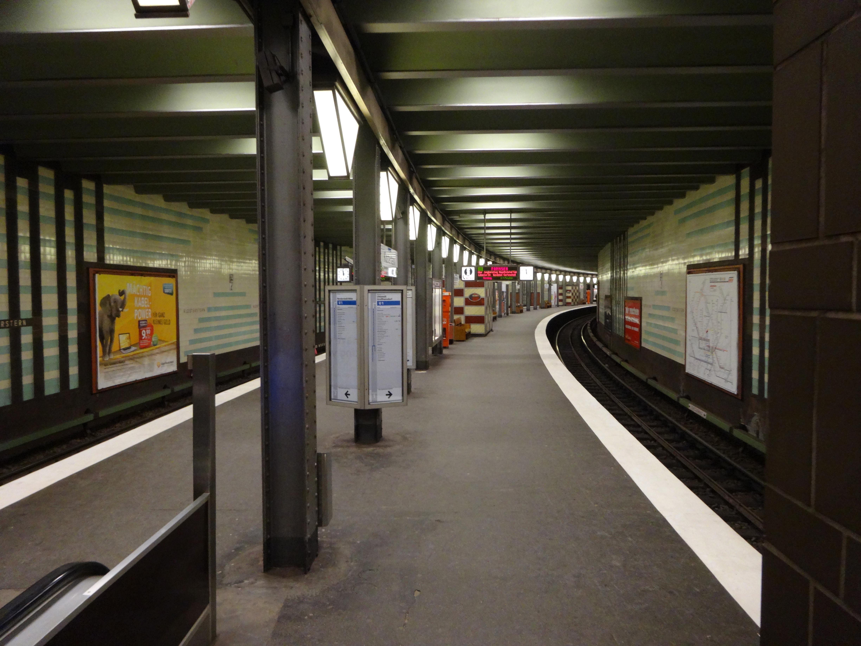 U-Bahn Station Klosterstern Hamburg