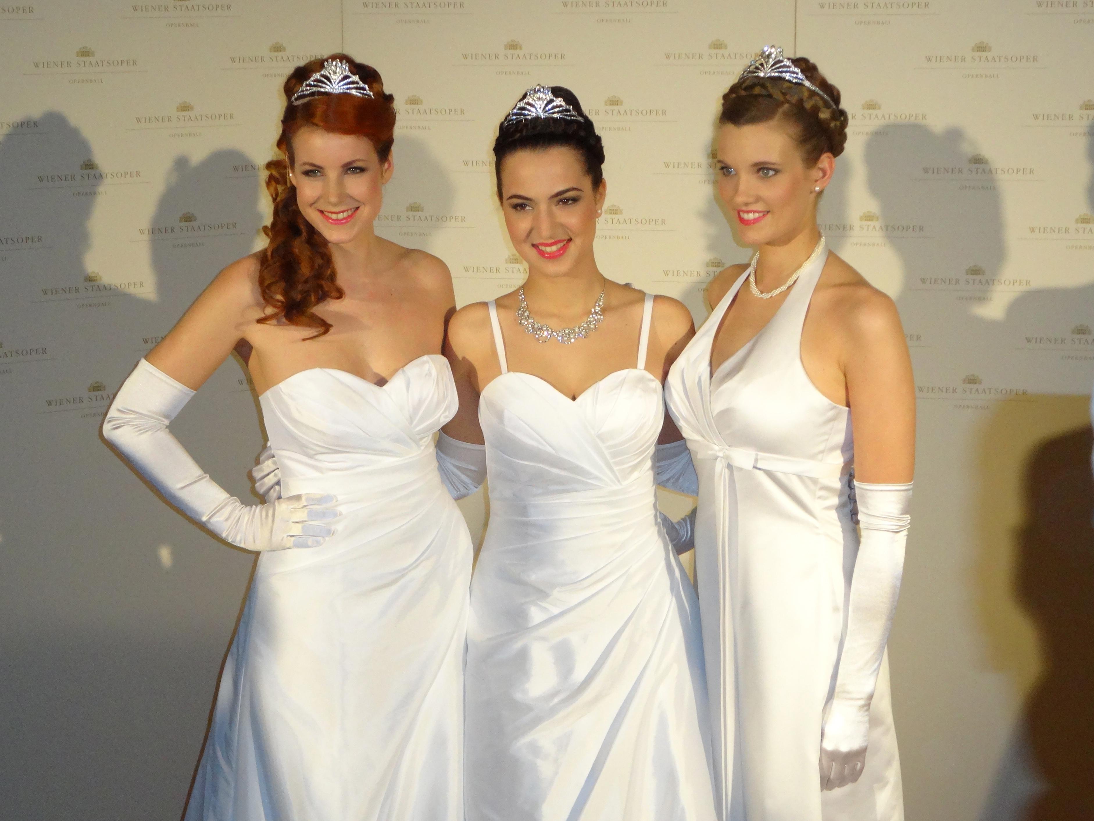Debutantes of Vienna's State Opera Ball 2014