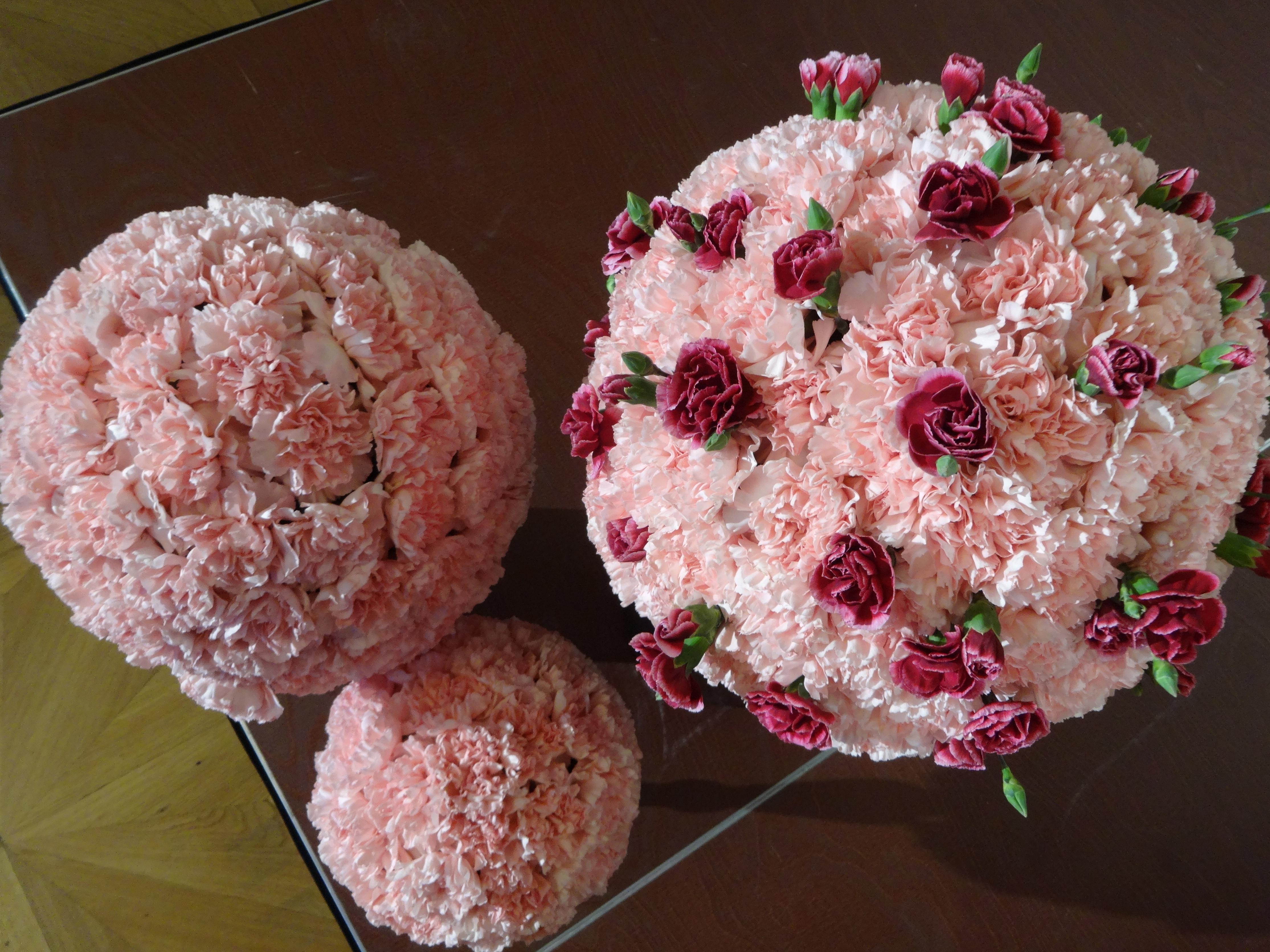 flowers for the Opera Ball / Opernball Blumenschmuck
