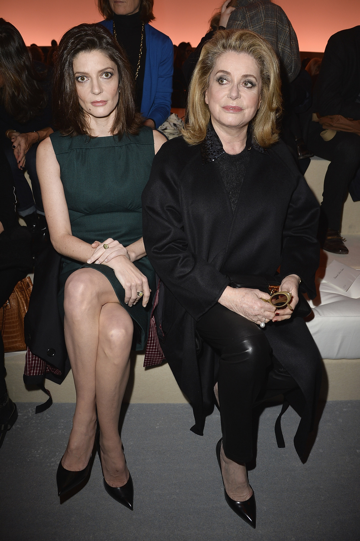 Chiara Mastroianni & Catherine Deneuve, (c) Louis Vuitton