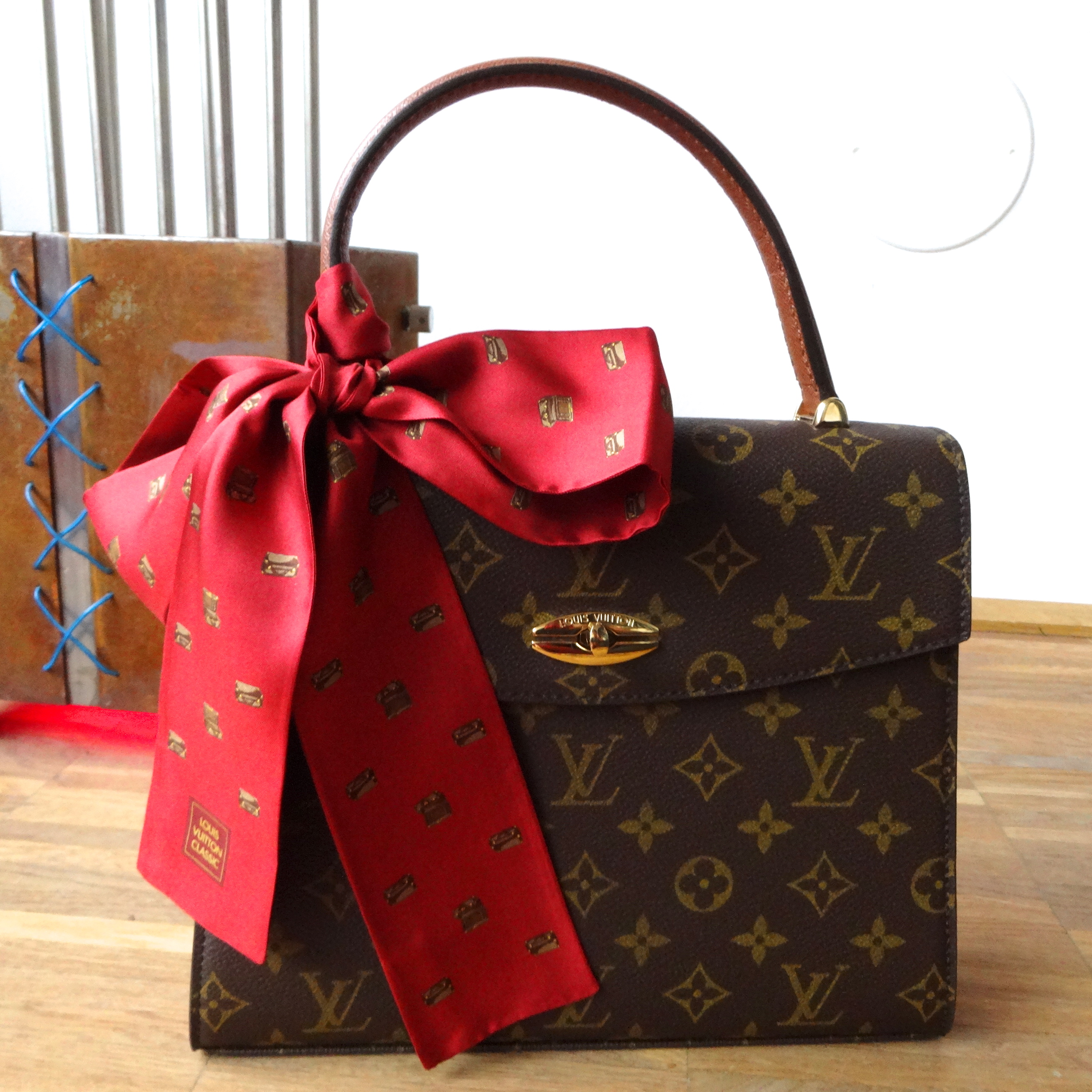 Malesherbes with Louis Vuitton Classic Bandeau