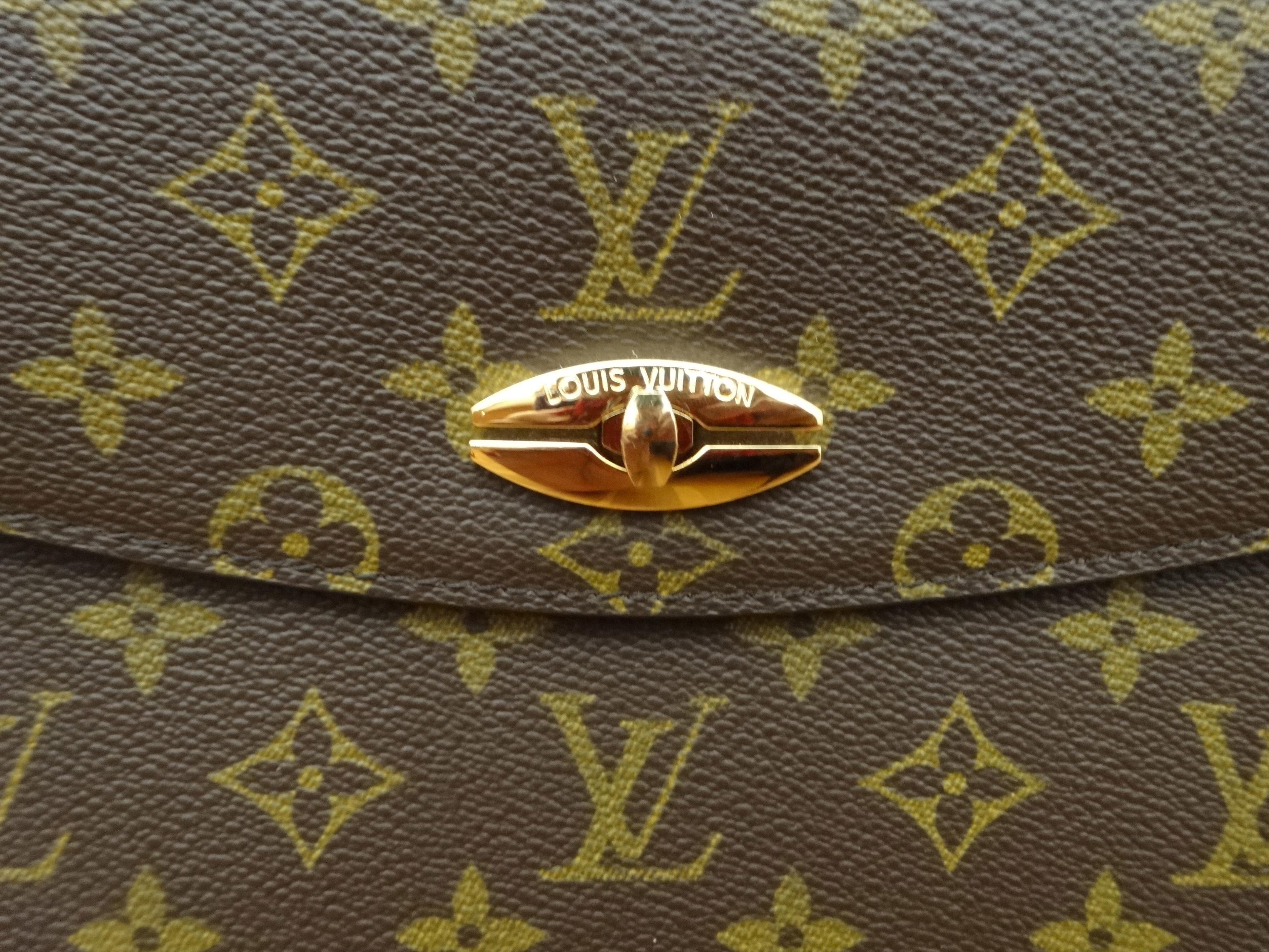 Louis Vuitton Monogram Malesherbes Detail