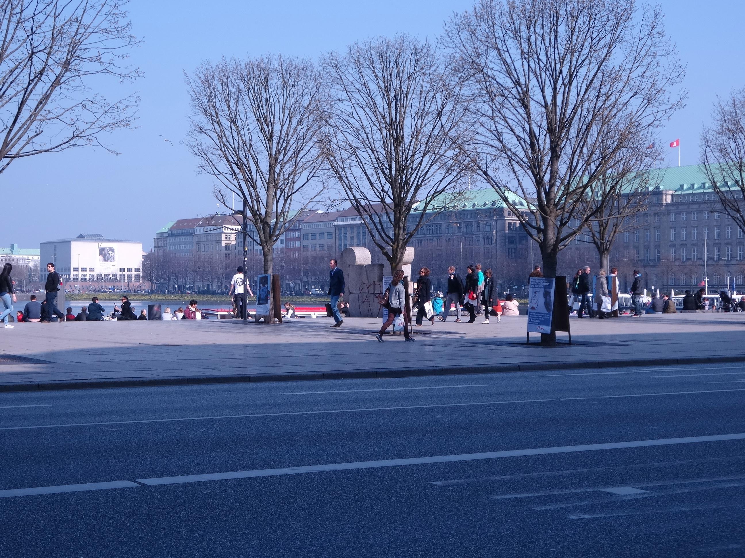 Hamburg Jungfernstieg Ballindamm
