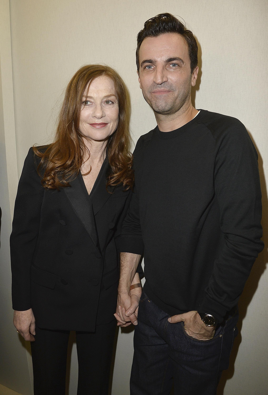 Isabelle Huppert & Nicolas Ghesquière, (c) Louis Vuitton