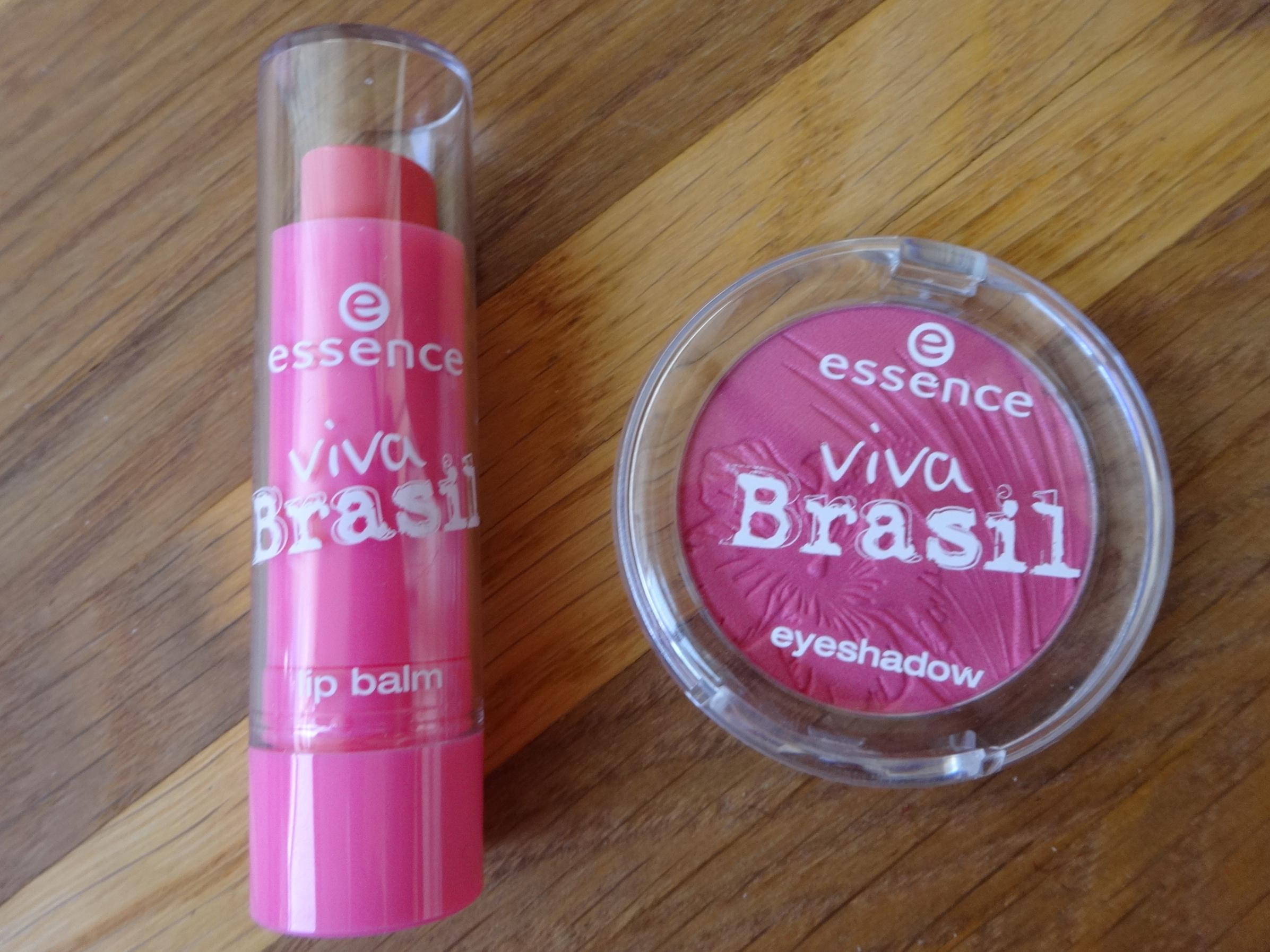 Lip Balm 01 Color Parade Eye Shadow 02 I <3 Brasil