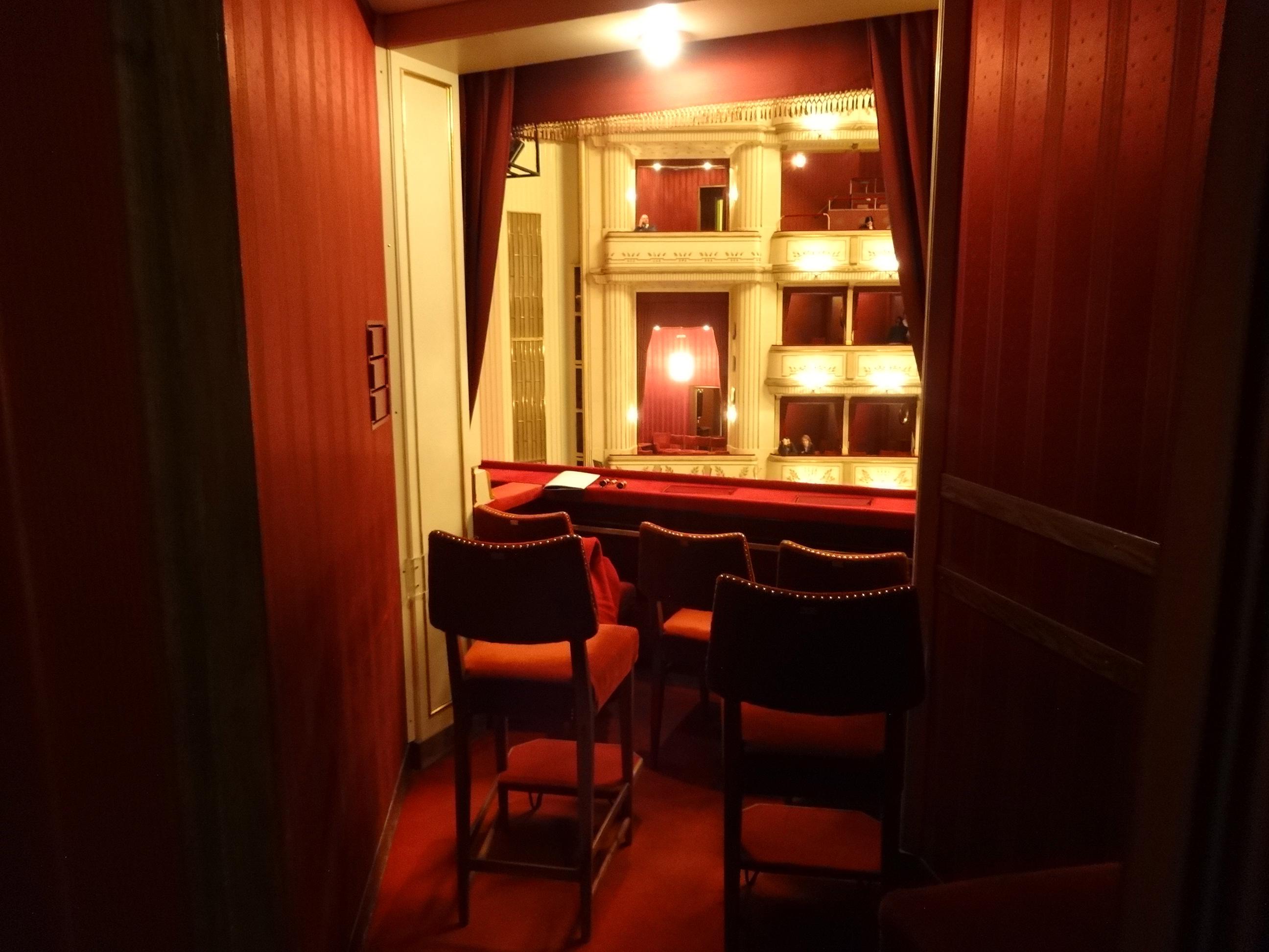 Loge Staatsoper Wien / box at Vienna State Opera