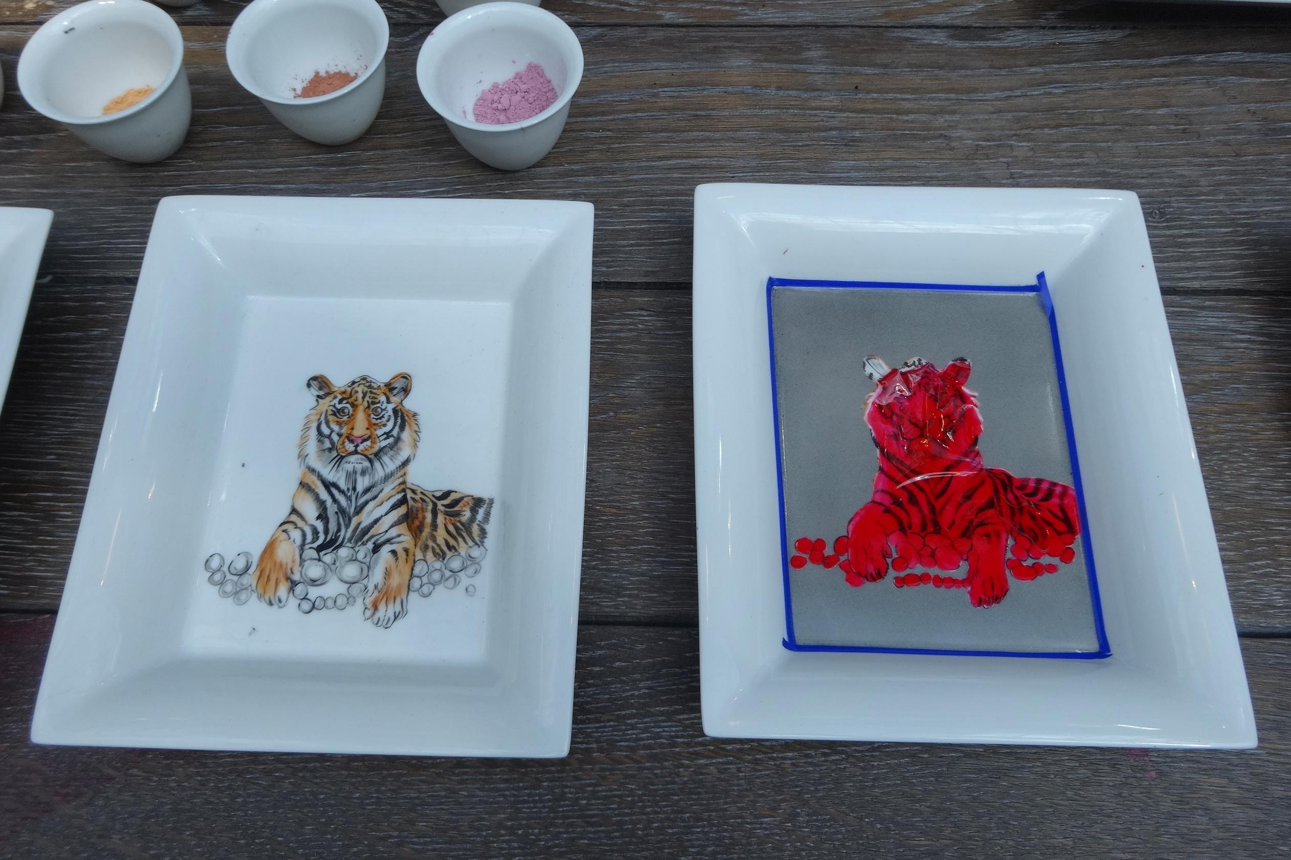 Hermes Festival des Metiers Porcelain Panter 5 HappyFace313