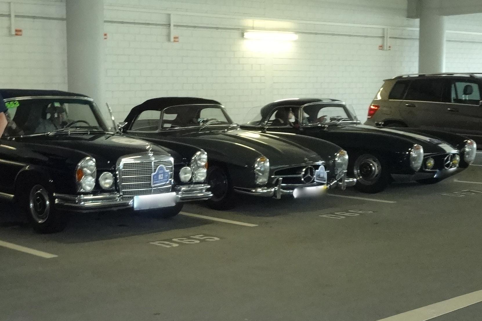 Schätze in der Mercedes-Benz NDL München, Arnulfstrasse