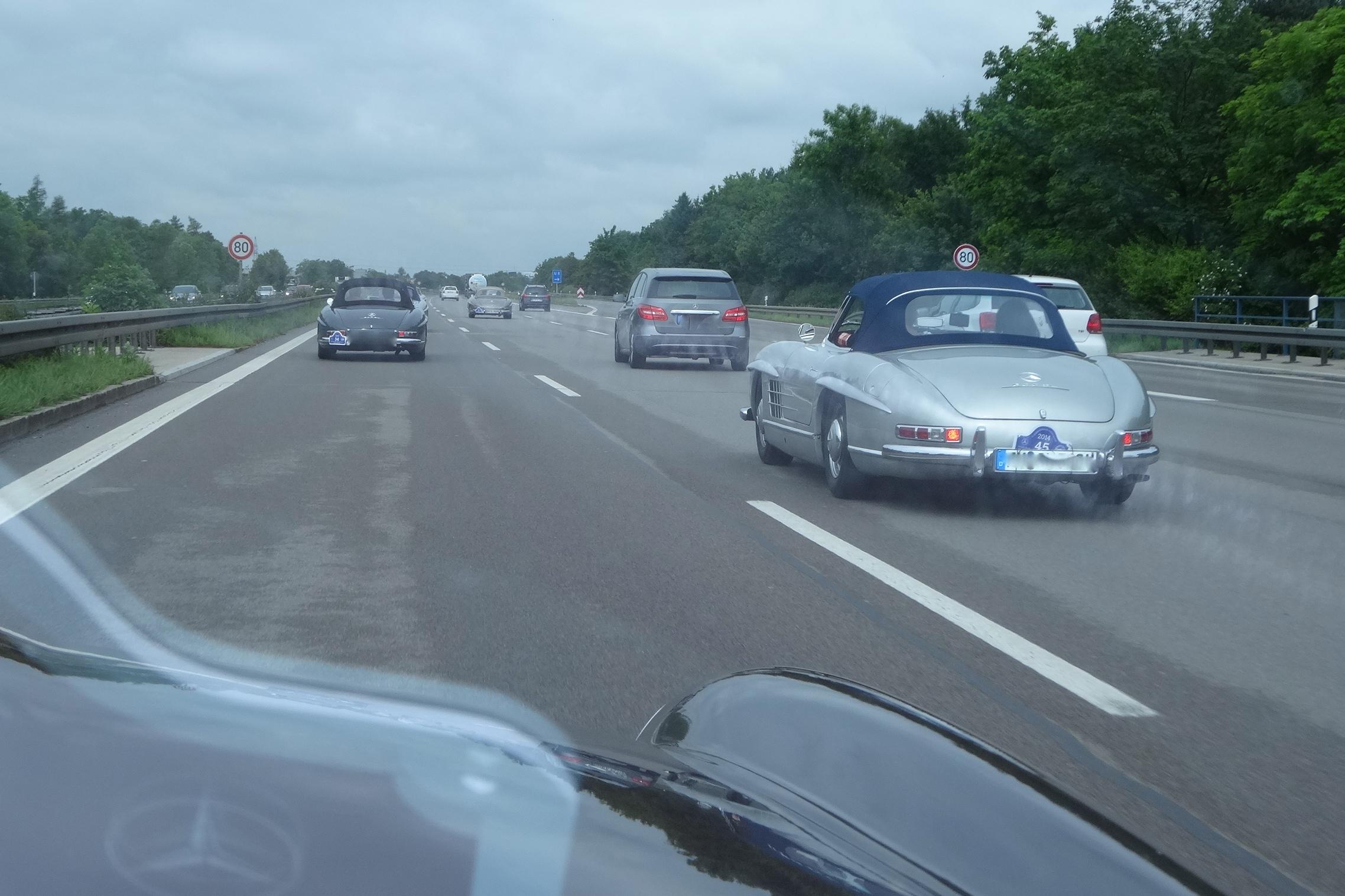 Fahr'n, fahrn, fahr'n auf der Autobahn