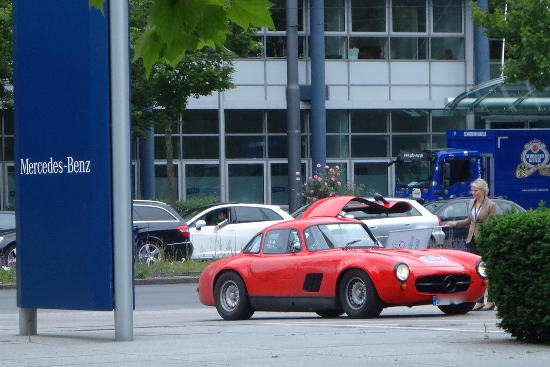 returning to Mercedes-Benz Arnulfstrasse