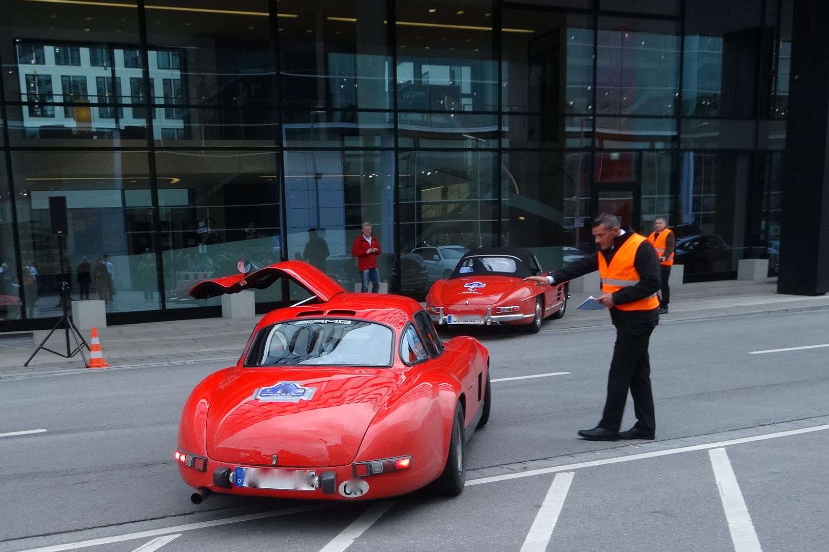 Rückkehr in die Mercedes-Benz Niederlassung München