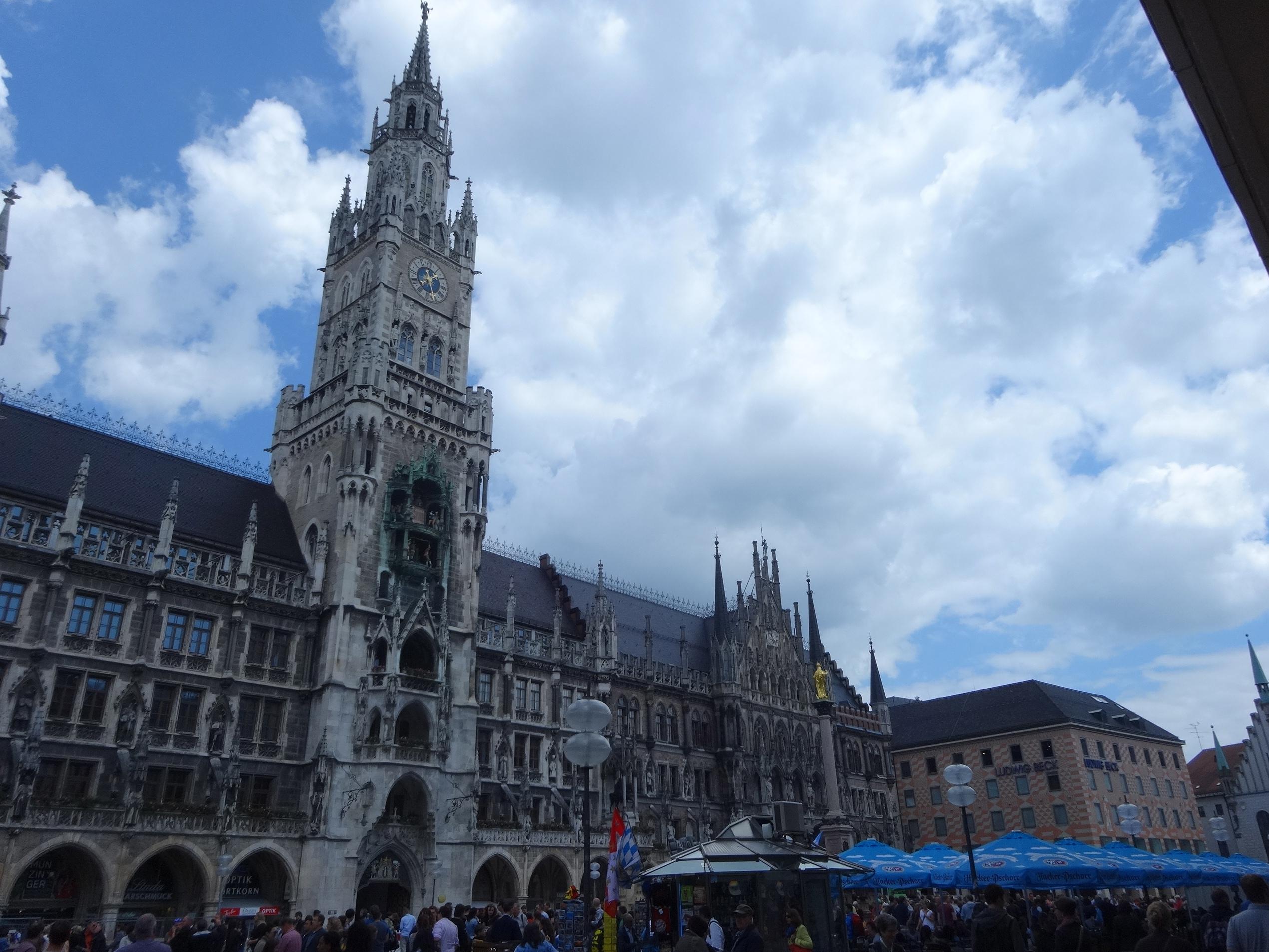 Neues Rathaus - München - City Hall