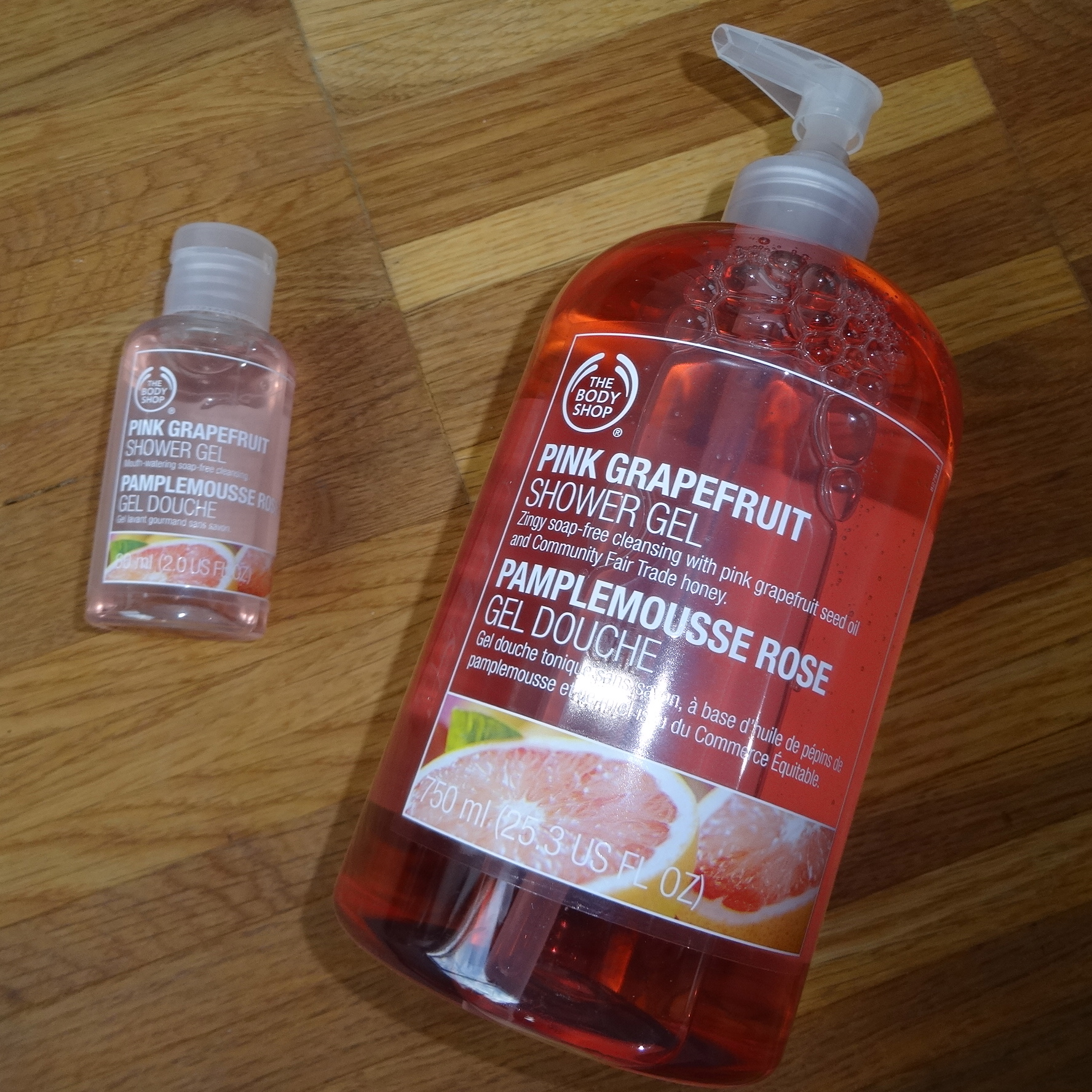Bodyshop pink grapefruit HappyFace313