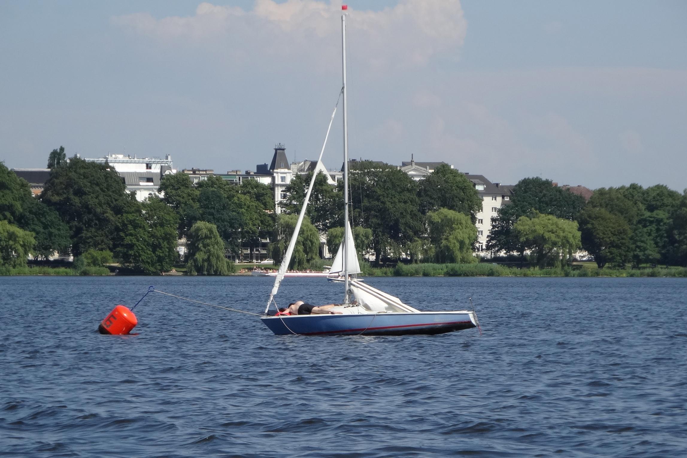 …auf den Segelboot... / …on the sail boat...