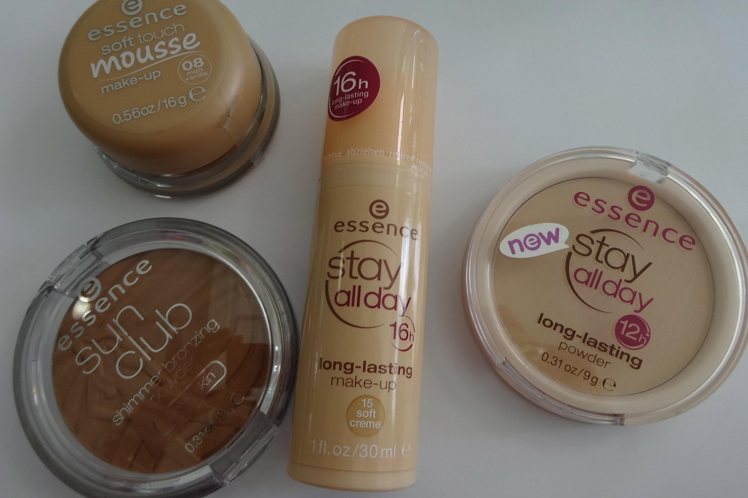 Mousse Make-up, long-lasting make-up, long-lasting powder & bronzing powder