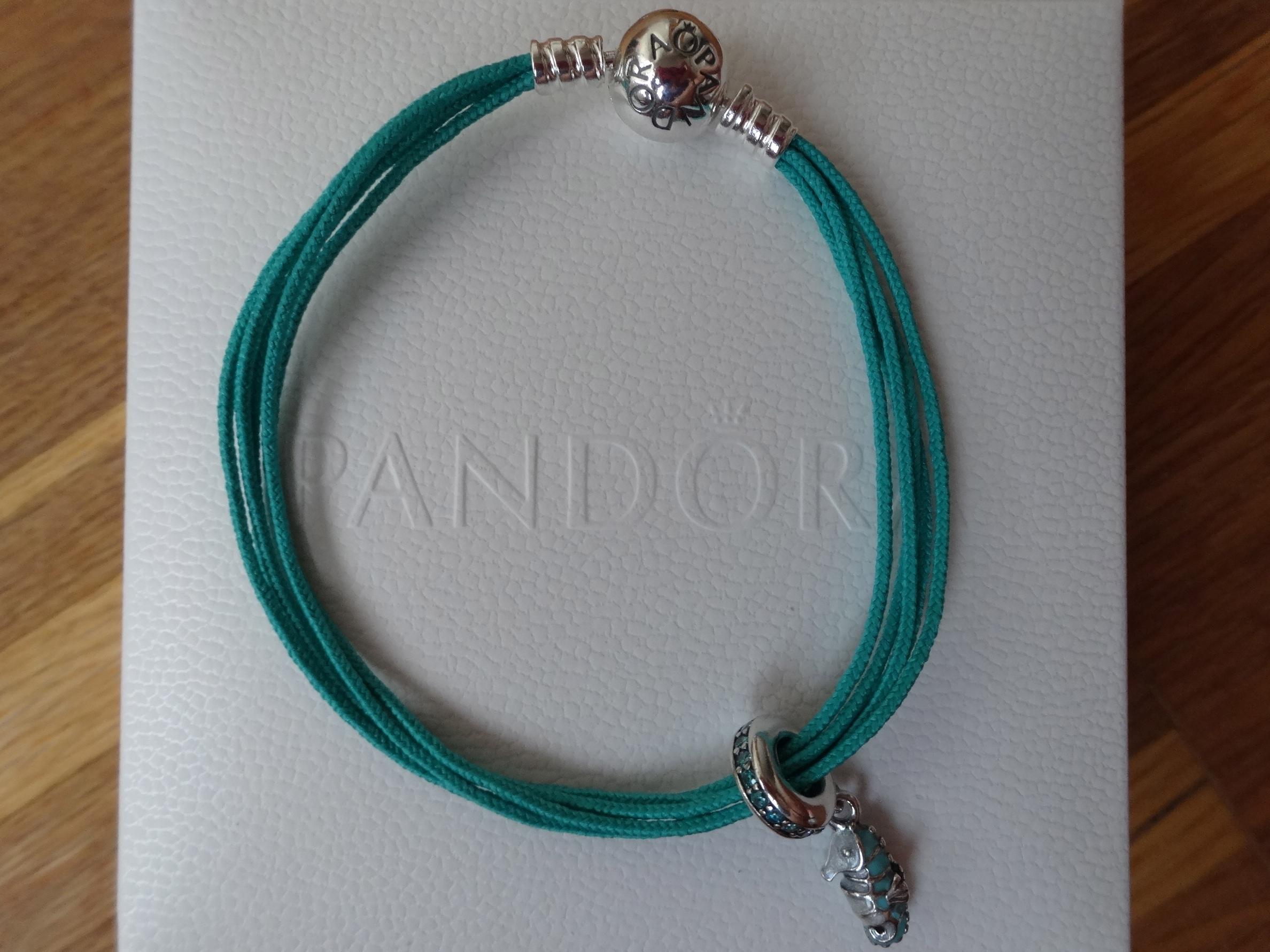 Pandora Moments multi strand bracelet
