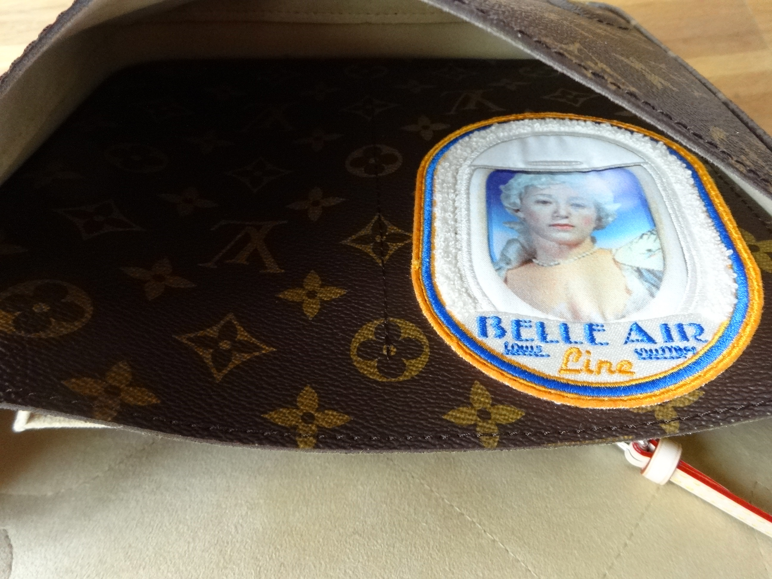 inside pocket - Cindy Sherman Messenger Bag - Innentasche