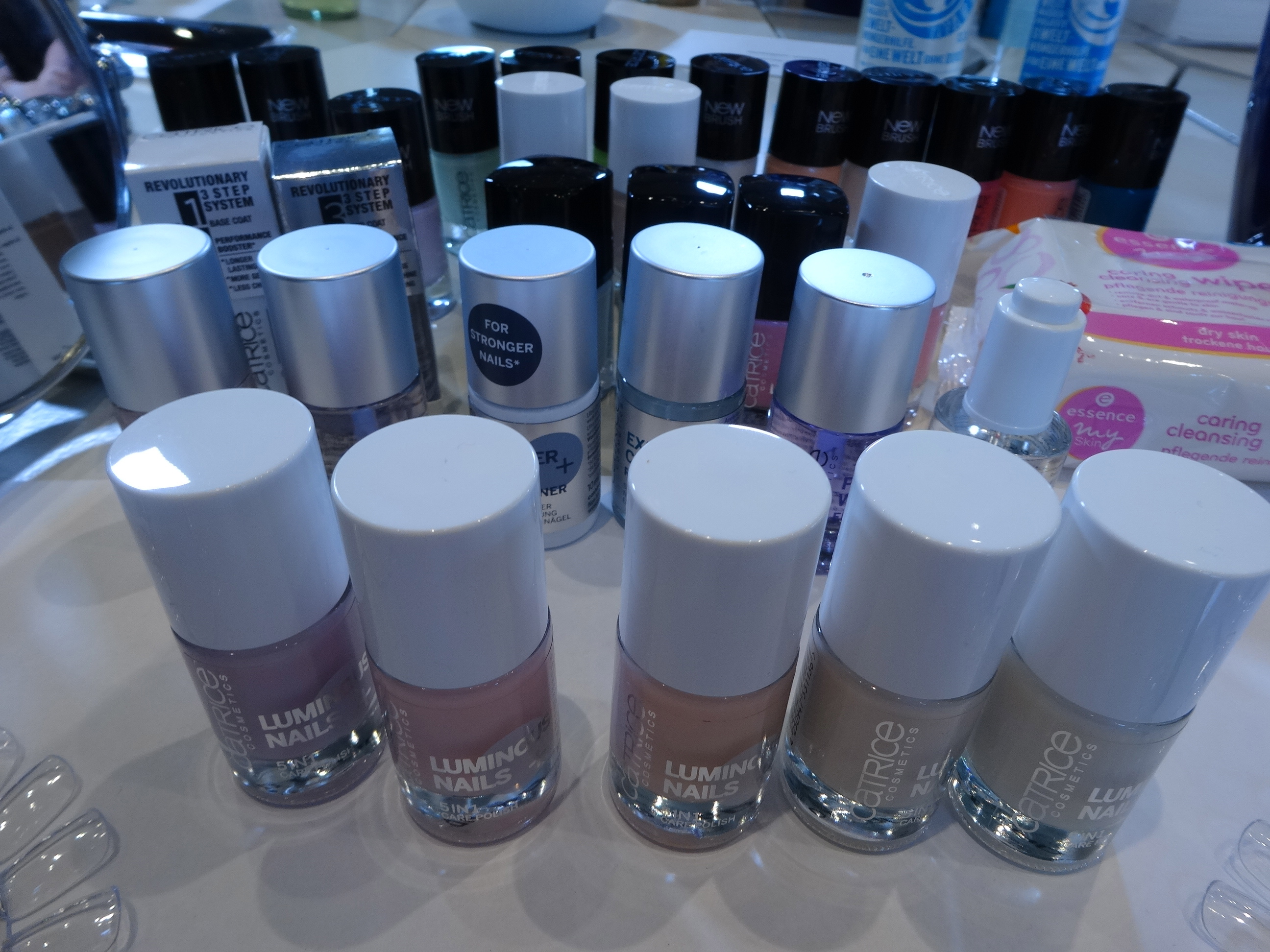 so viele Lacke - so many polishes