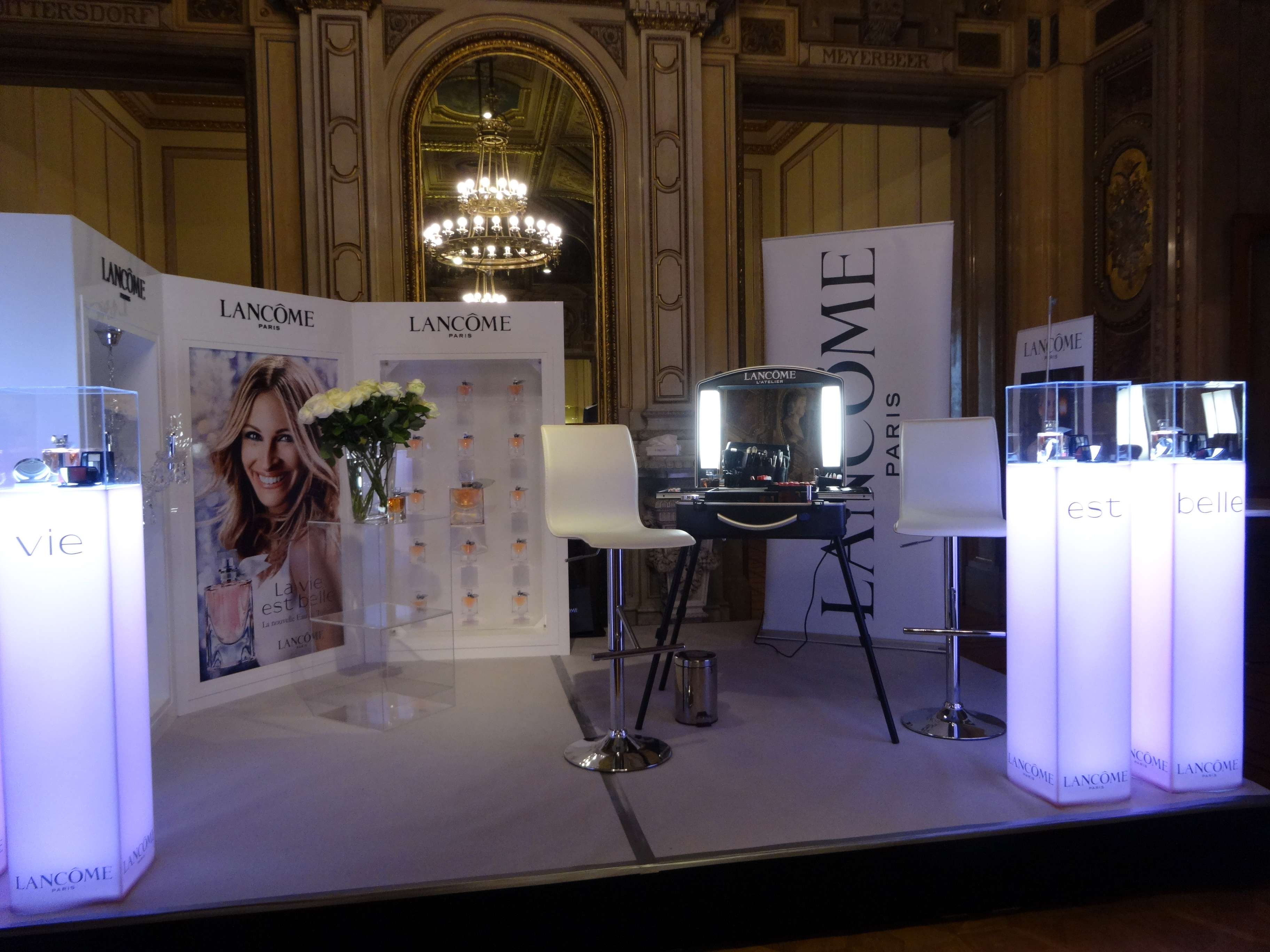 Lancome at the Vienna Opera Ball / Lancome beim Wiener Opernball