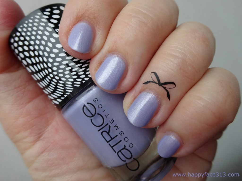 Catrice Doll's Collection nail polish and cuticle tattoo