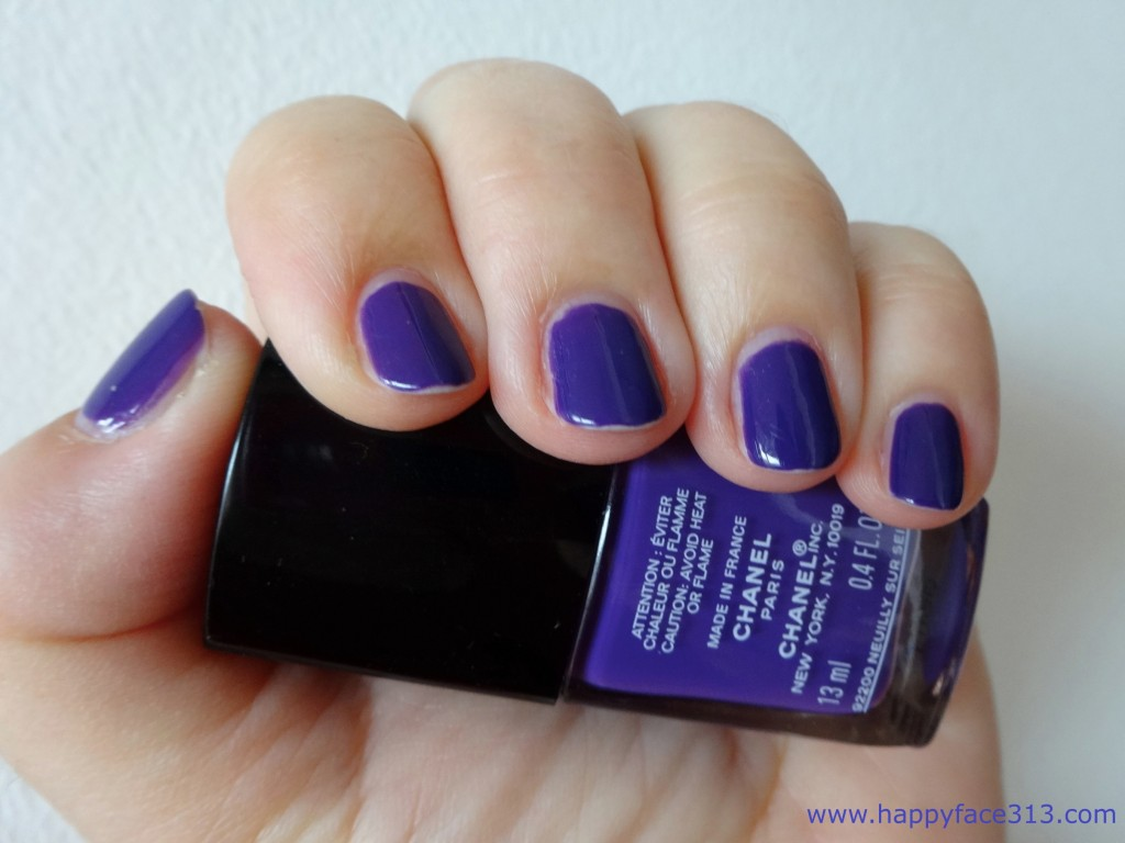 after 4 days - Tipwear Chanel 727 Lavanda - nach 4 Tagen