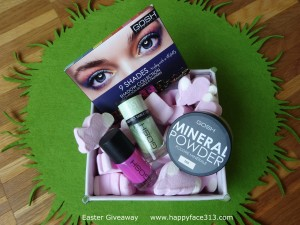 GOSH Cosmetics Beauty Kit Oster Giveaway