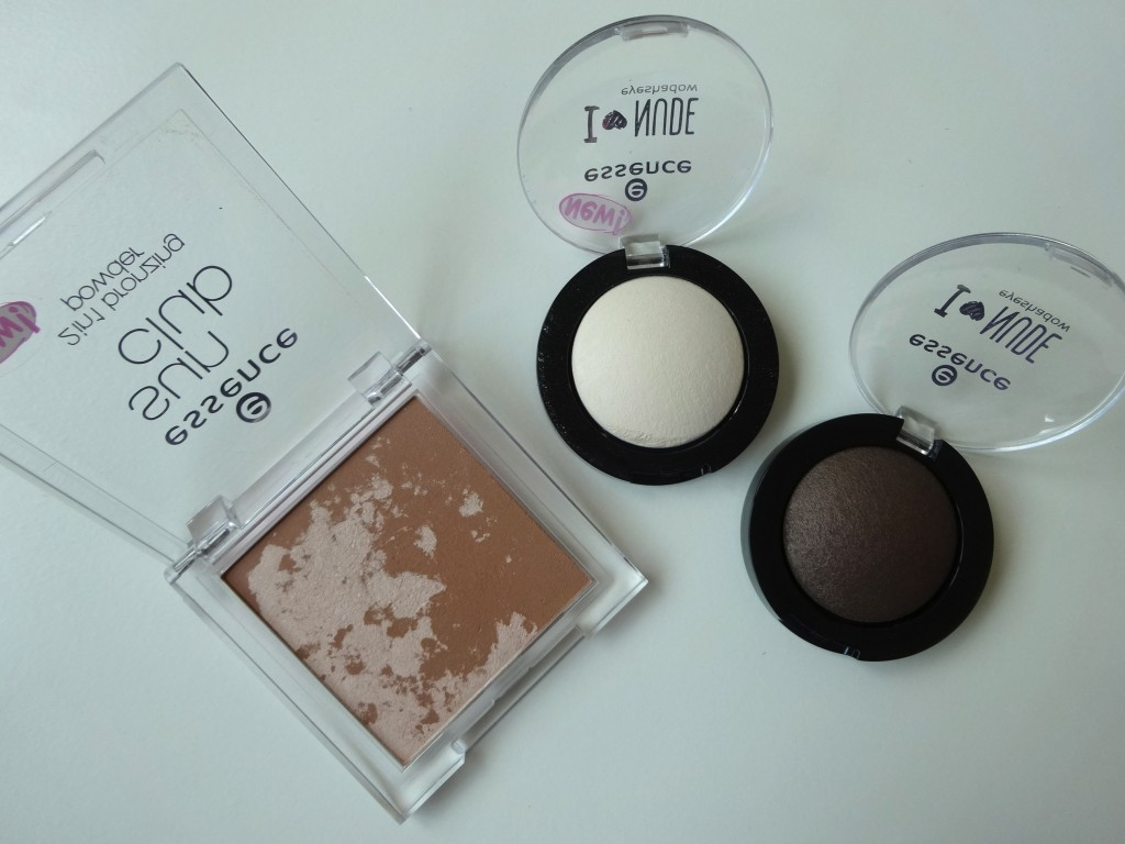 essence sun club bronzer und i love nude eye shadows