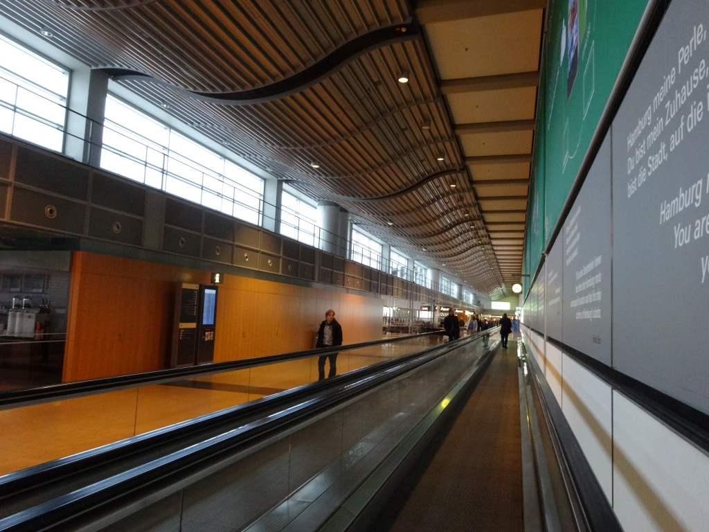 which way? arrival at Hamburg airport