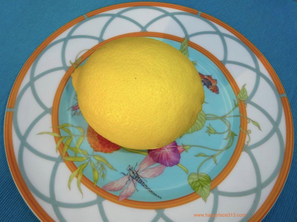 Lemon from my lemon tree
