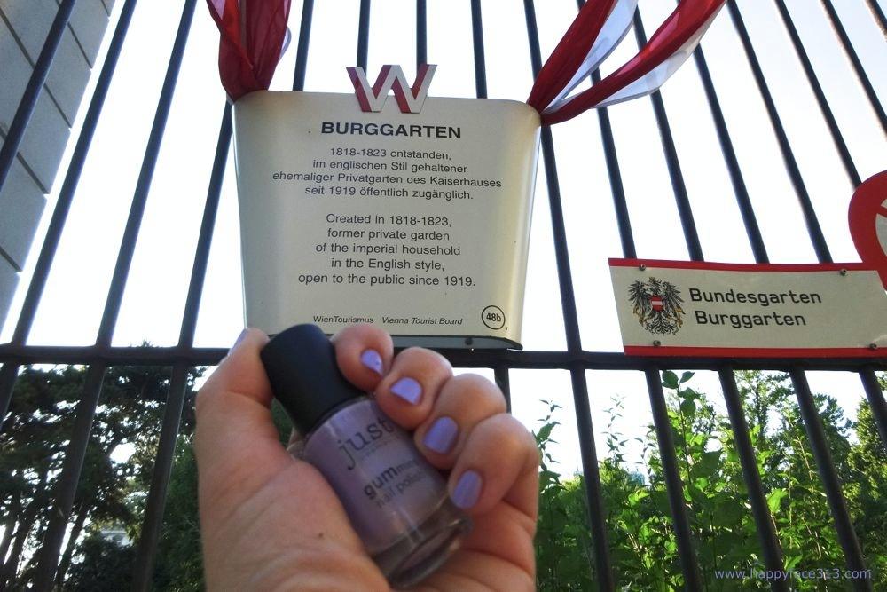 entrance - Burggarten - Eingang