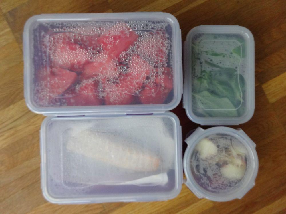 Obst und Gemüse frisch halten / keeping produce and fruit fresh