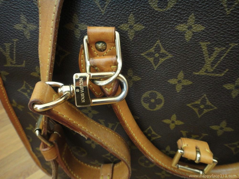 vachetta handle and shoulder strap - LV Rivoli