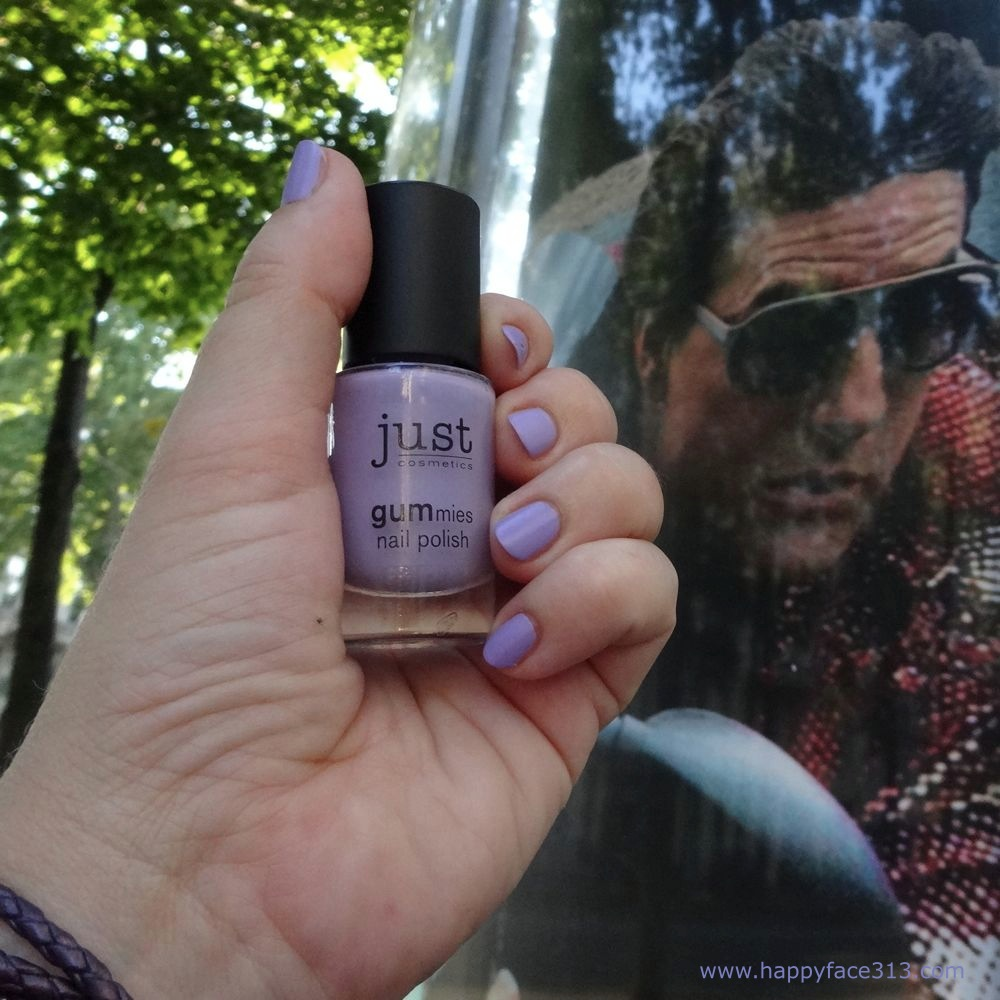 around the world in 80 days - just tasty blueberry nail polish and Tom Cruise